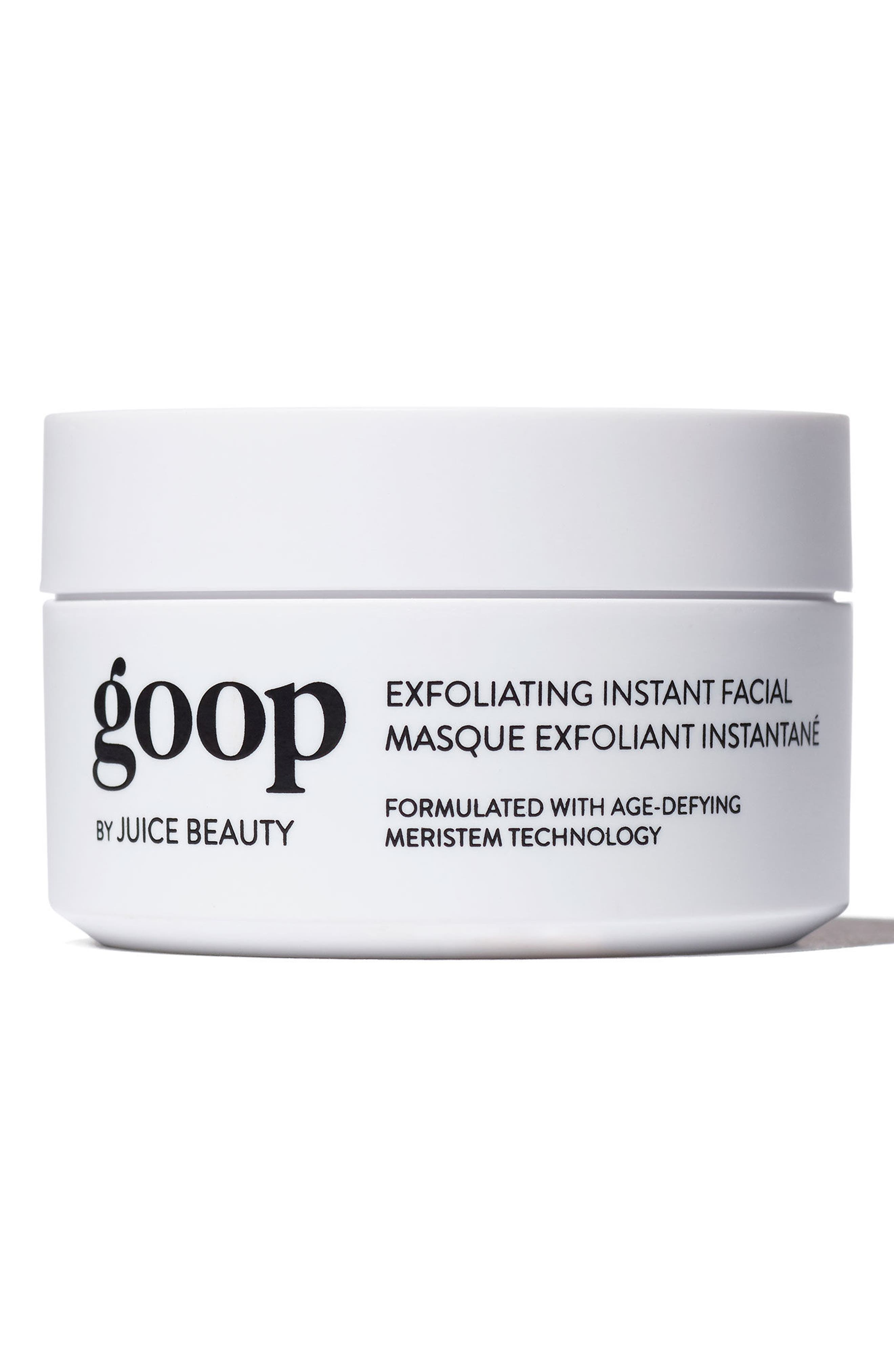 GOOP, by Juice Beauty Exfoliating Instant Facial, Main thumbnail 1, color, 000