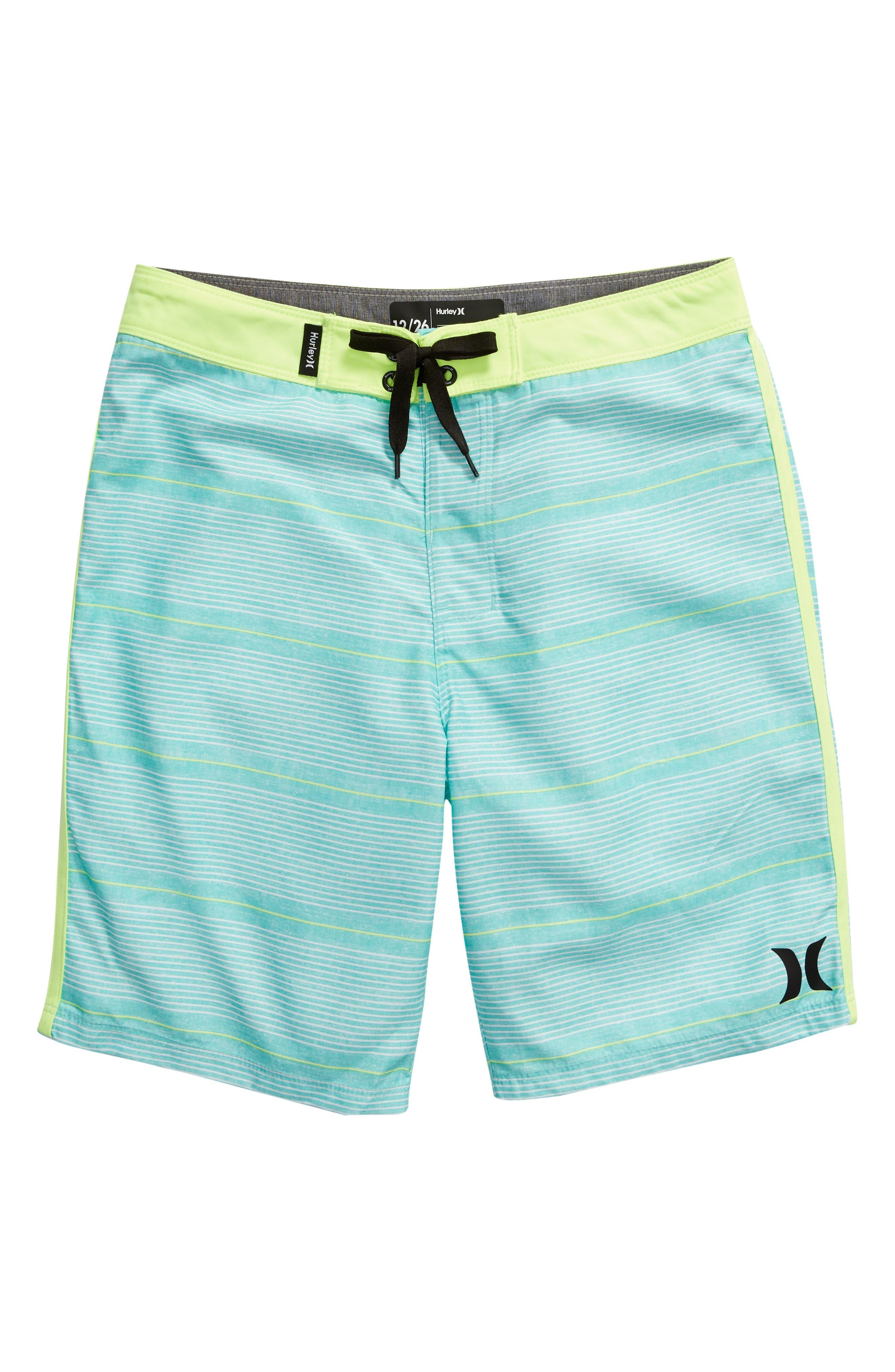 HURLEY Shoreline Board Shorts, Main, color, TROPICAL TWIST