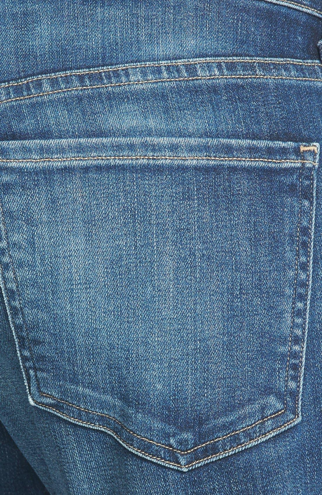 CITIZENS OF HUMANITY, Emerson Slim Boyfriend Jeans, Alternate thumbnail 6, color, BLUE RIDGE