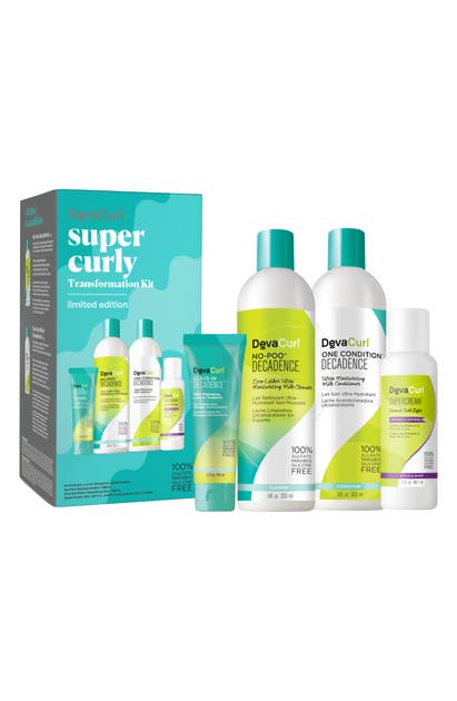 Devacurl Super Curly Transformation Kit