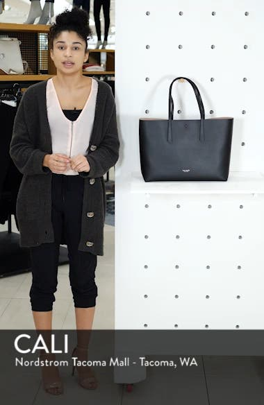large molly leather tote, sales video thumbnail