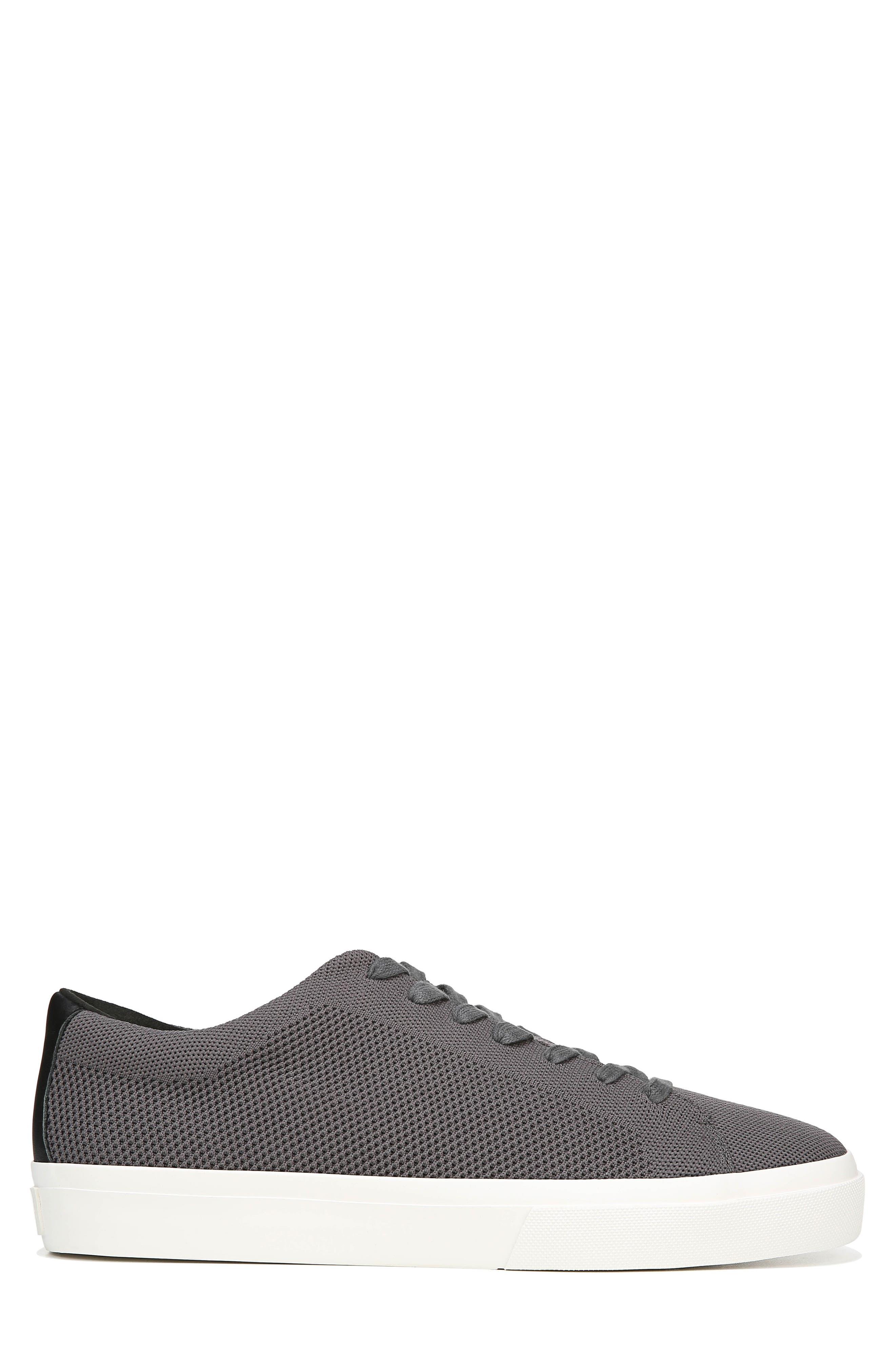 VINCE, Farrell Sneaker, Alternate thumbnail 3, color, GRAPHITE/ BLACK