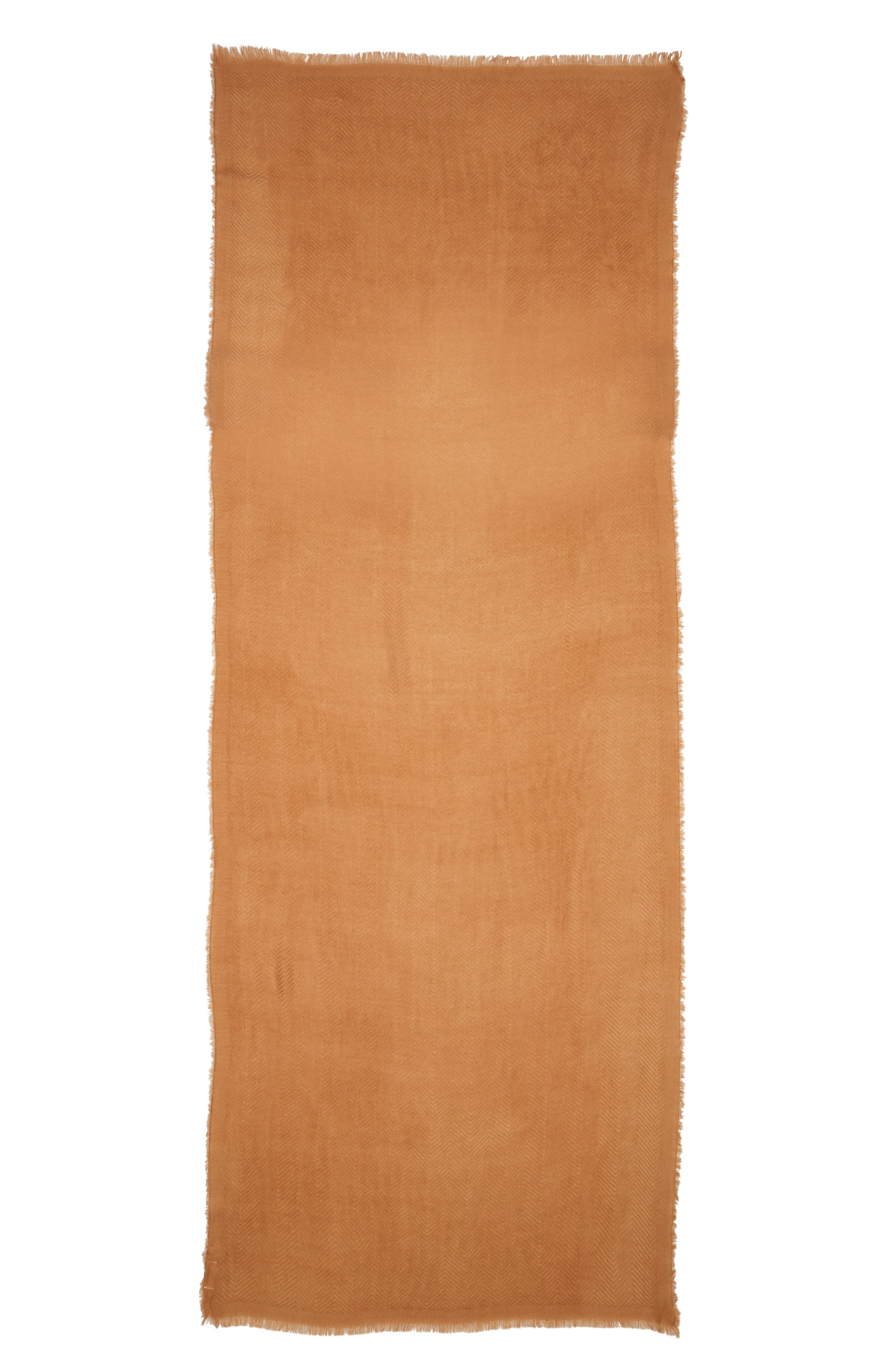 SOLE SOCIETY, Oversize Blanket Scarf, Alternate thumbnail 2, color, CAMEL
