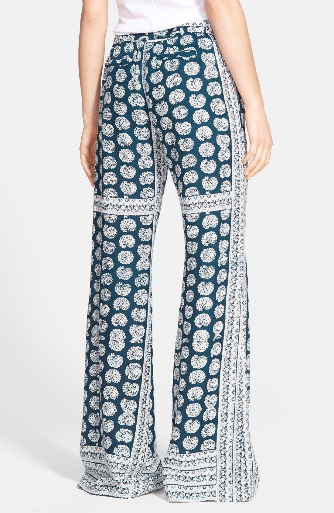 JESSICA SIMPSON, 'Kingston' Soft Woven Pants, Alternate thumbnail 3, color, 410