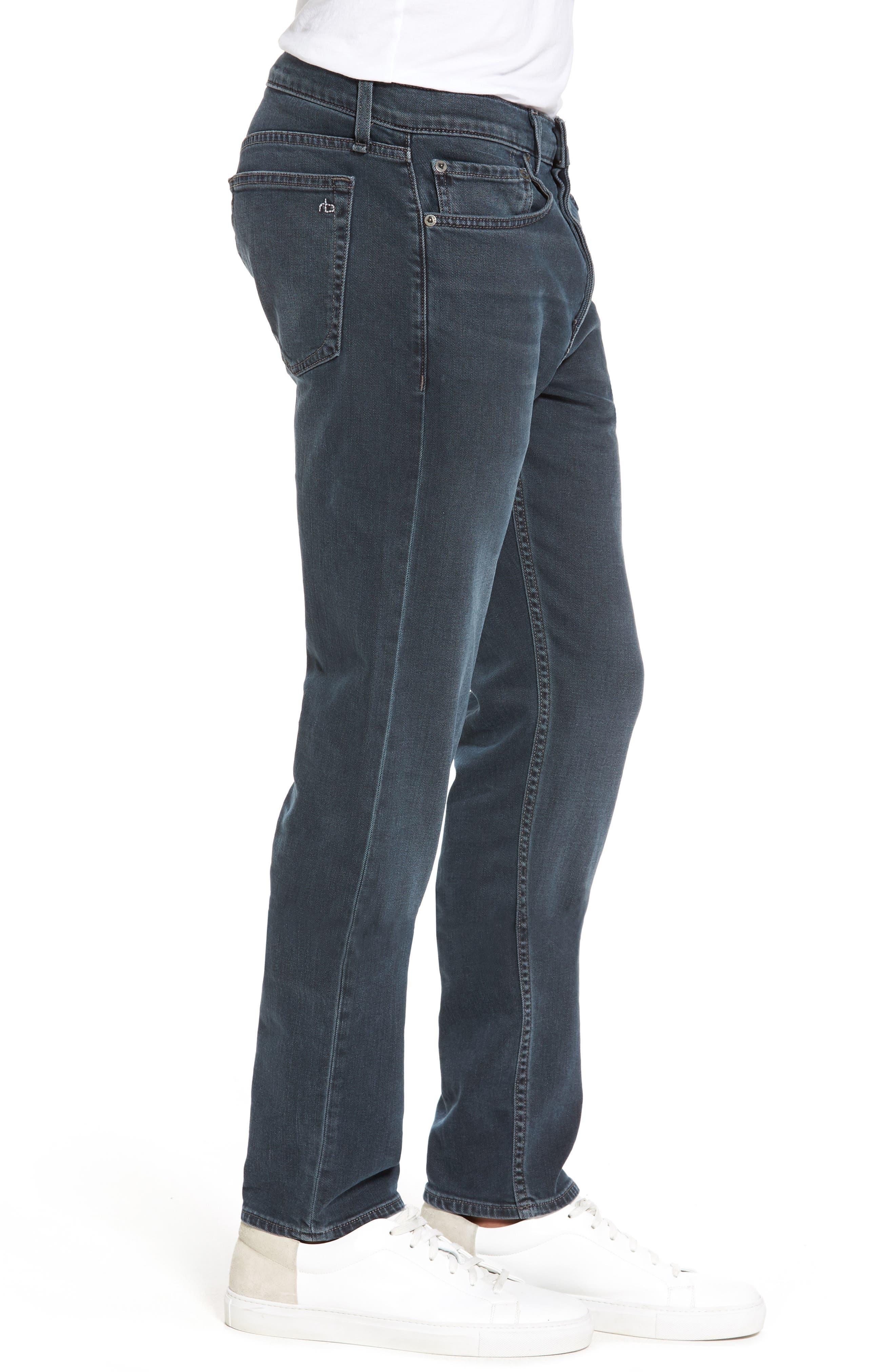 RAG & BONE, Fit 2 Slim Fit Jeans, Alternate thumbnail 4, color, MINNA