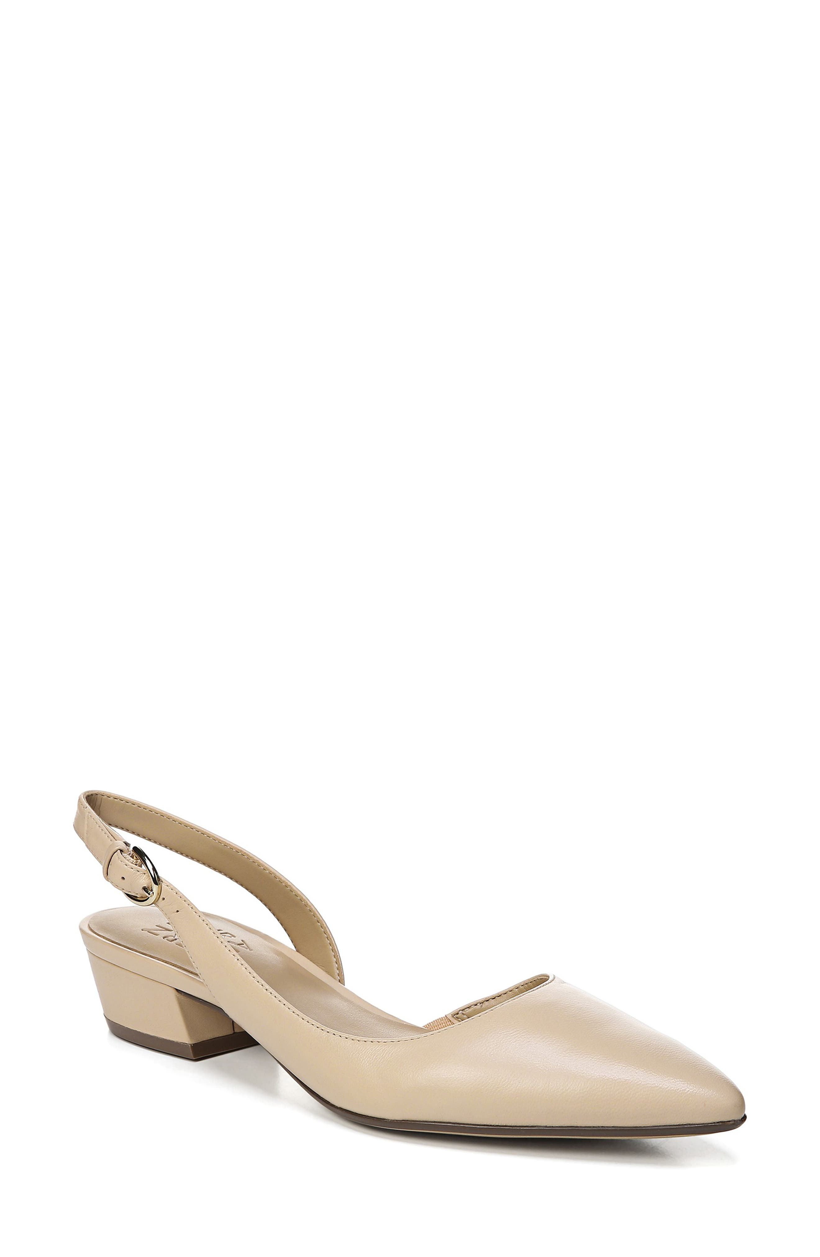 NATURALIZER, Banks Pump, Main thumbnail 1, color, SOFT NUDE LEATHER