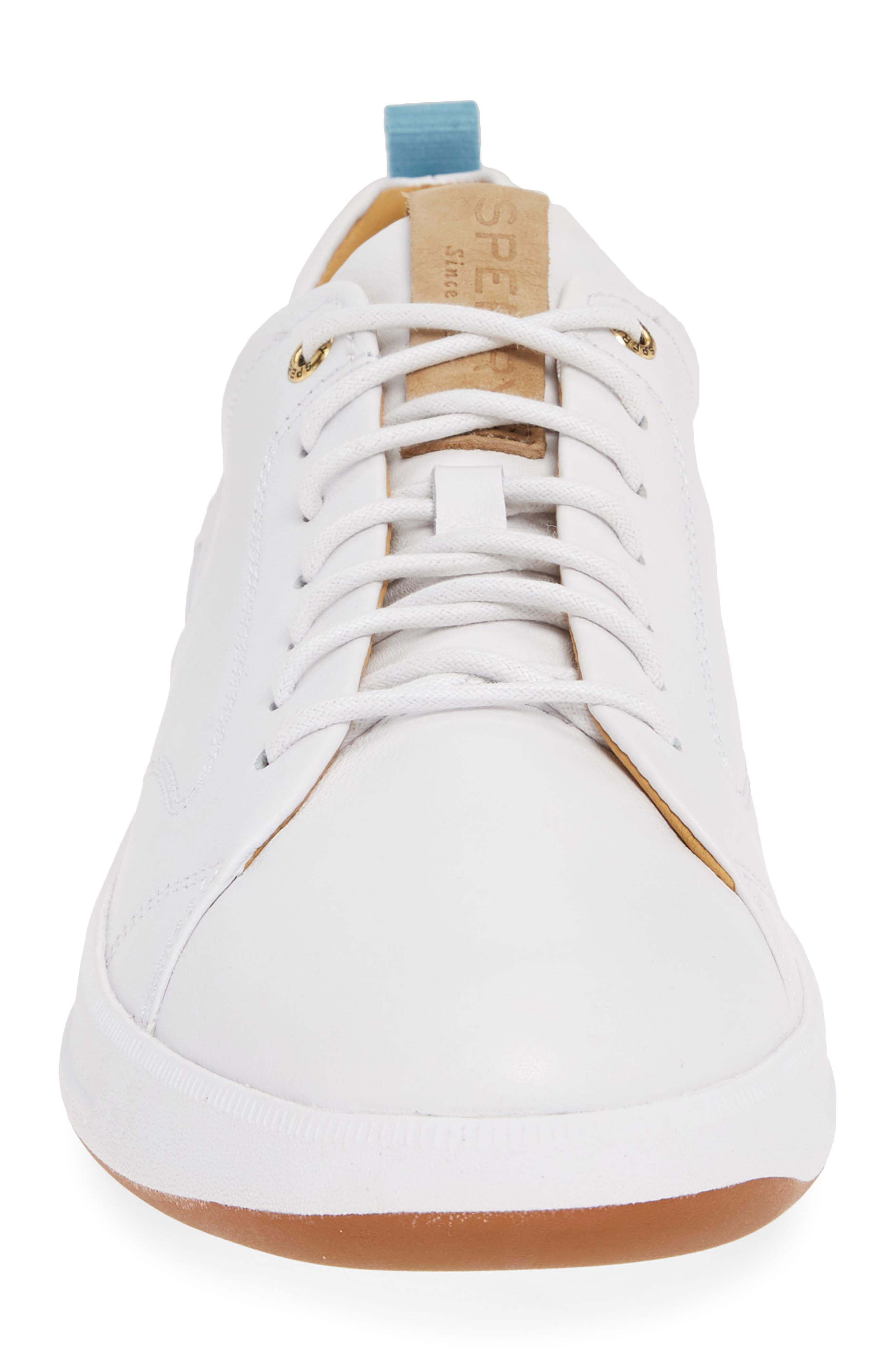 SPERRY, Gold Cup Richfield LTT Sneaker, Alternate thumbnail 4, color, WHITE
