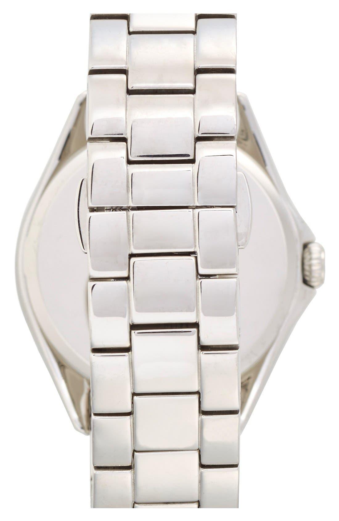 KATE SPADE NEW YORK, 'seaport grand' bracelet watch, 38mm, Alternate thumbnail 3, color, 040