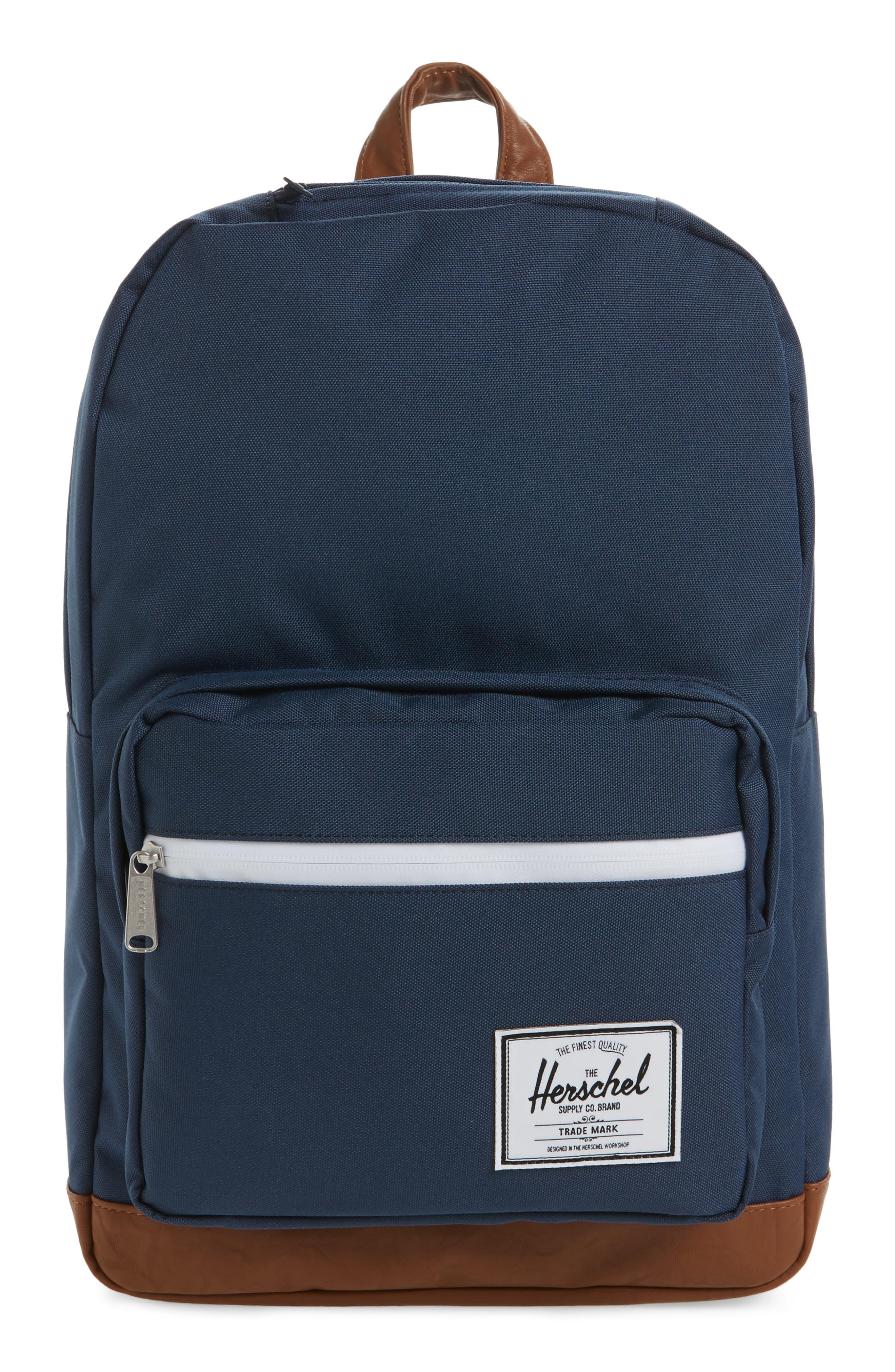 HERSCHEL SUPPLY CO. Pop Quiz Backpack, Main, color, NAVY