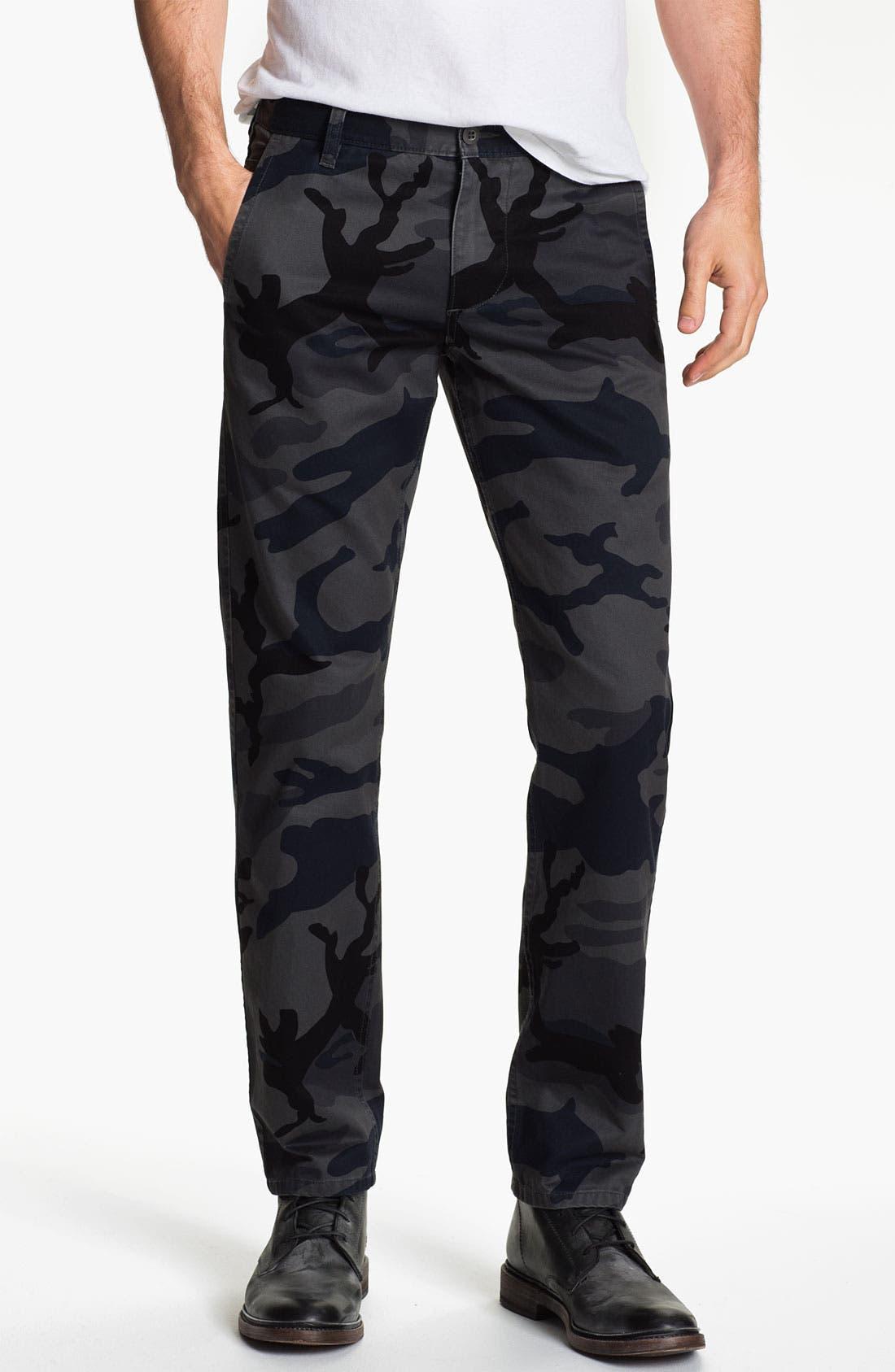 DOCKERS<SUP>®</SUP> 'Alpha Khaki' Slim Straight Leg Chinos, Main, color, 080