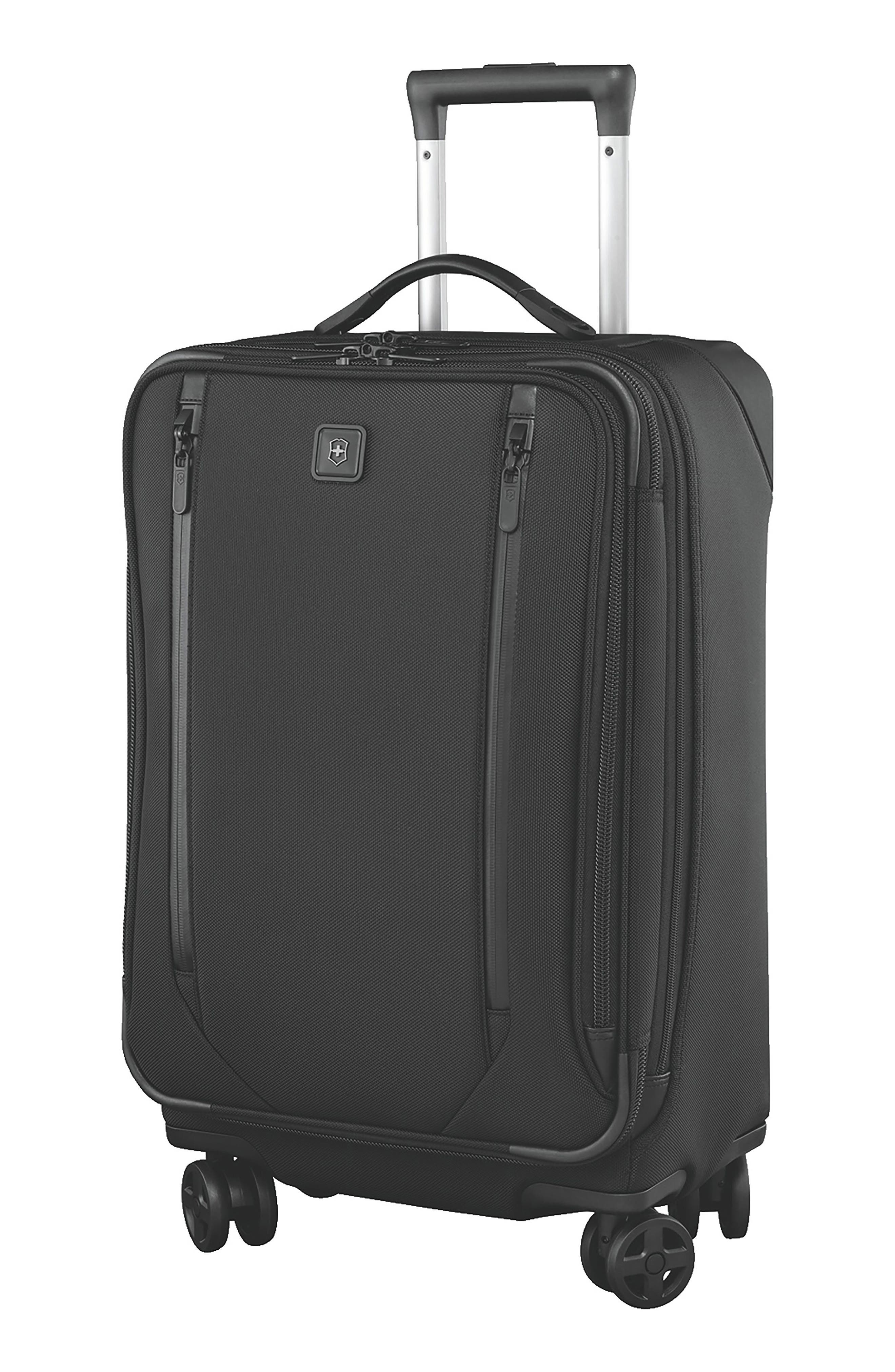VICTORINOX SWISS ARMY<SUP>®</SUP>, Lexicon 2.0 24-Inch Wheeled Suitcase, Main thumbnail 1, color, BLACK