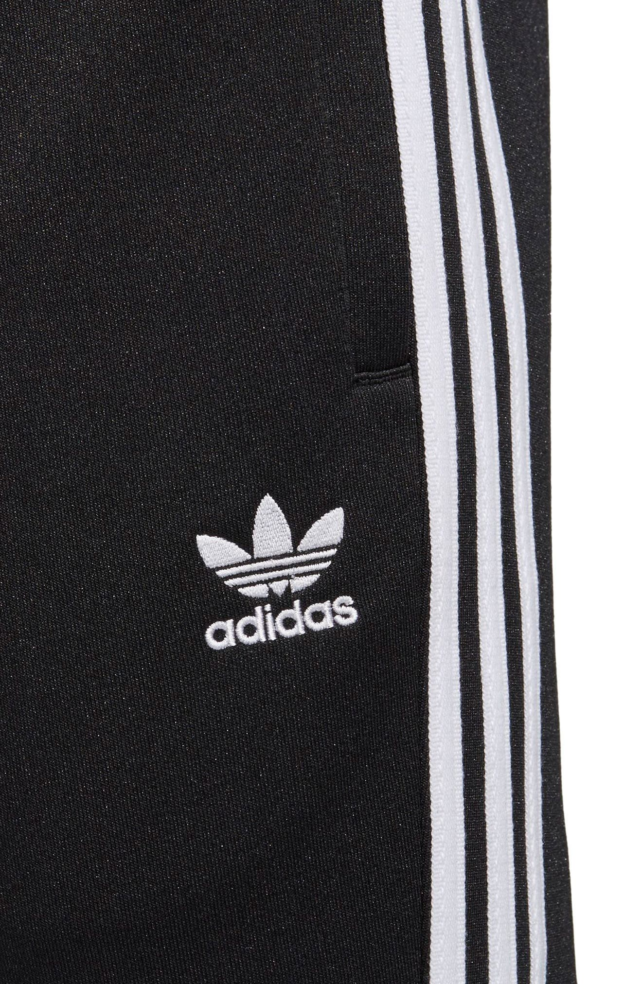 ADIDAS ORIGINALS, Track Pants, Alternate thumbnail 5, color, BLACK