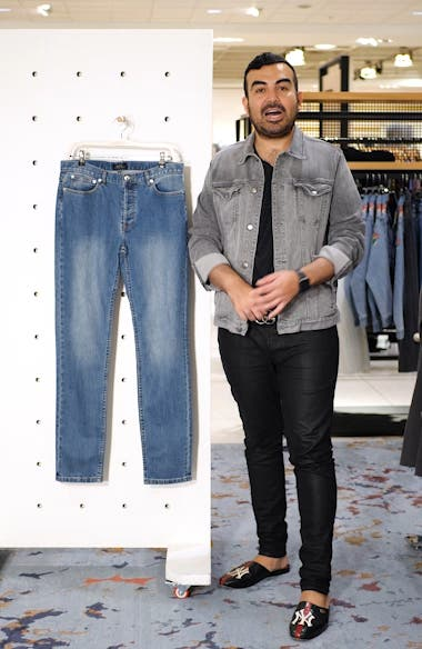 Petit New Standard Skinny Fit Jeans, sales video thumbnail