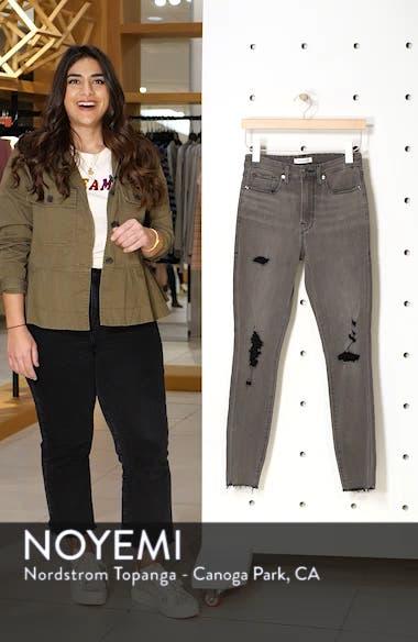 Good Waist Ripped High Waist Skinny Jeans, sales video thumbnail