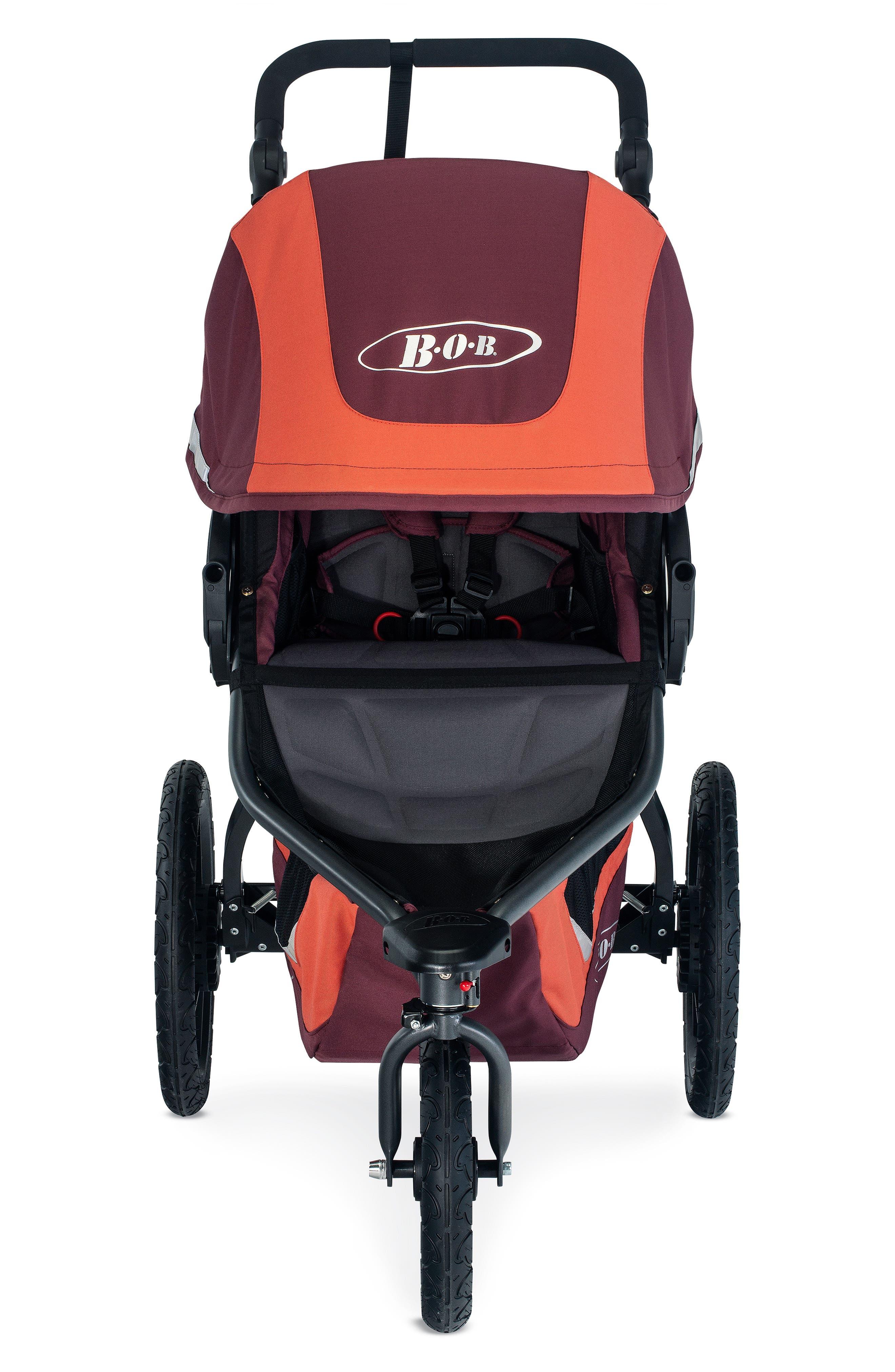BOB, Revolution FLEX 3 Single Jogging Stroller, Main thumbnail 1, color, SEDONA ORANGE