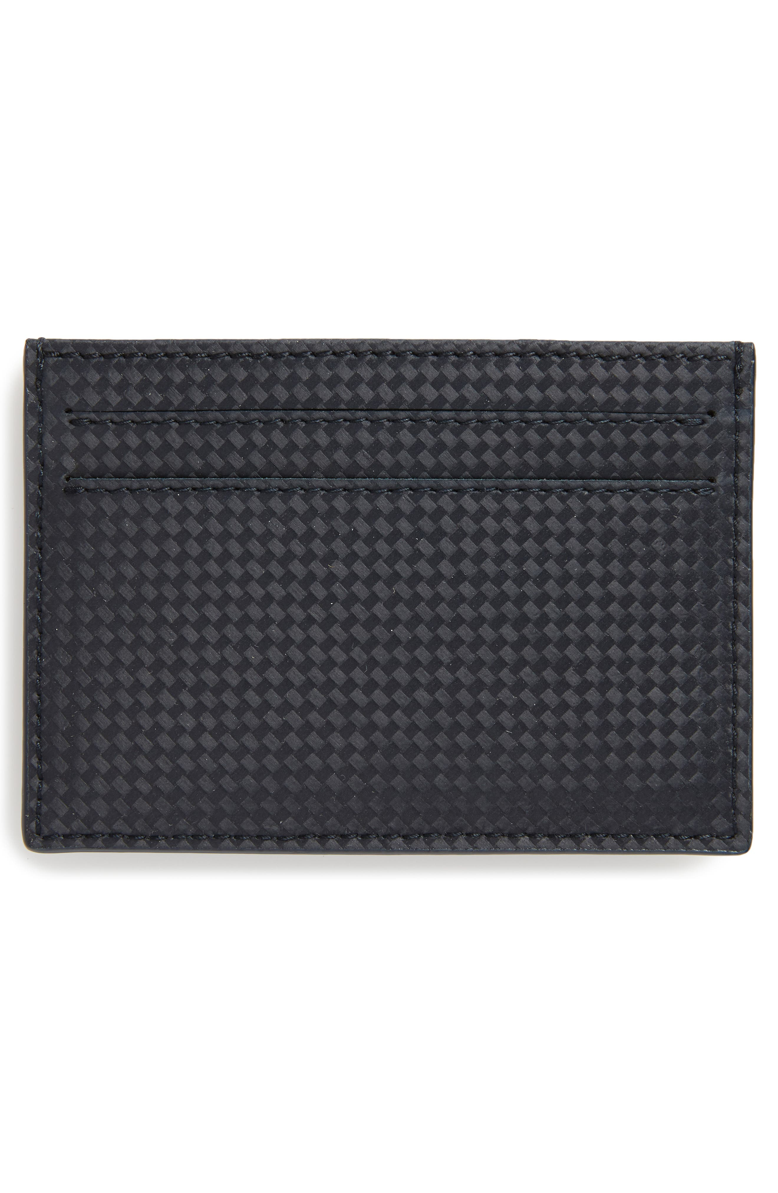 MONTBLANC, Extreme Leather Card Case, Alternate thumbnail 2, color, 400