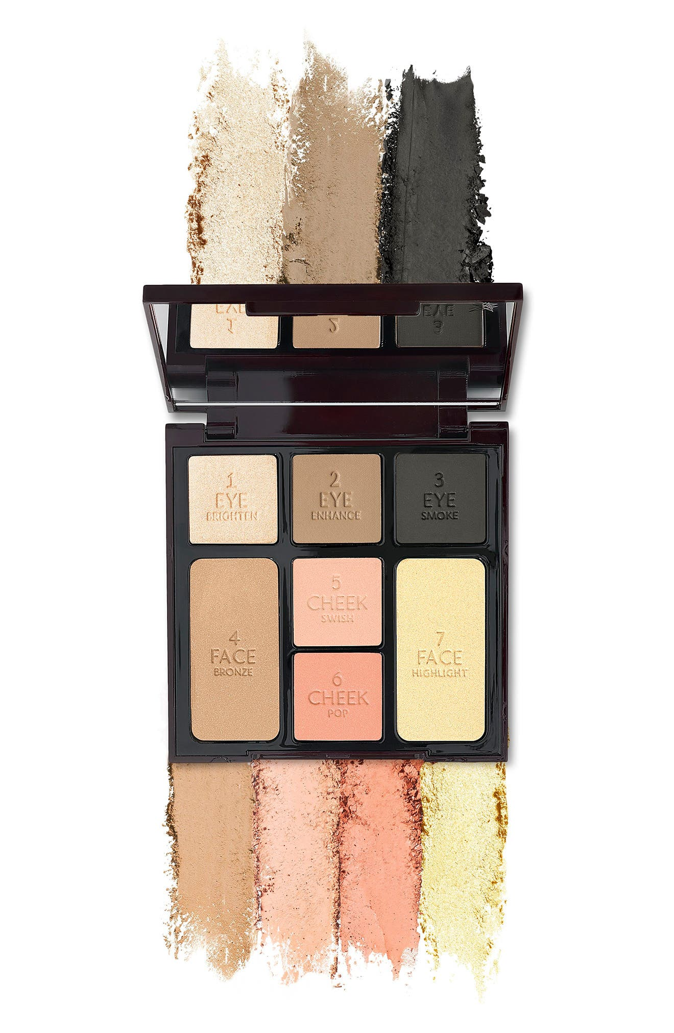 CHARLOTTE TILBURY, Instant Look in a Palette Smoky Eye Beauty, Alternate thumbnail 2, color, NO COLOR