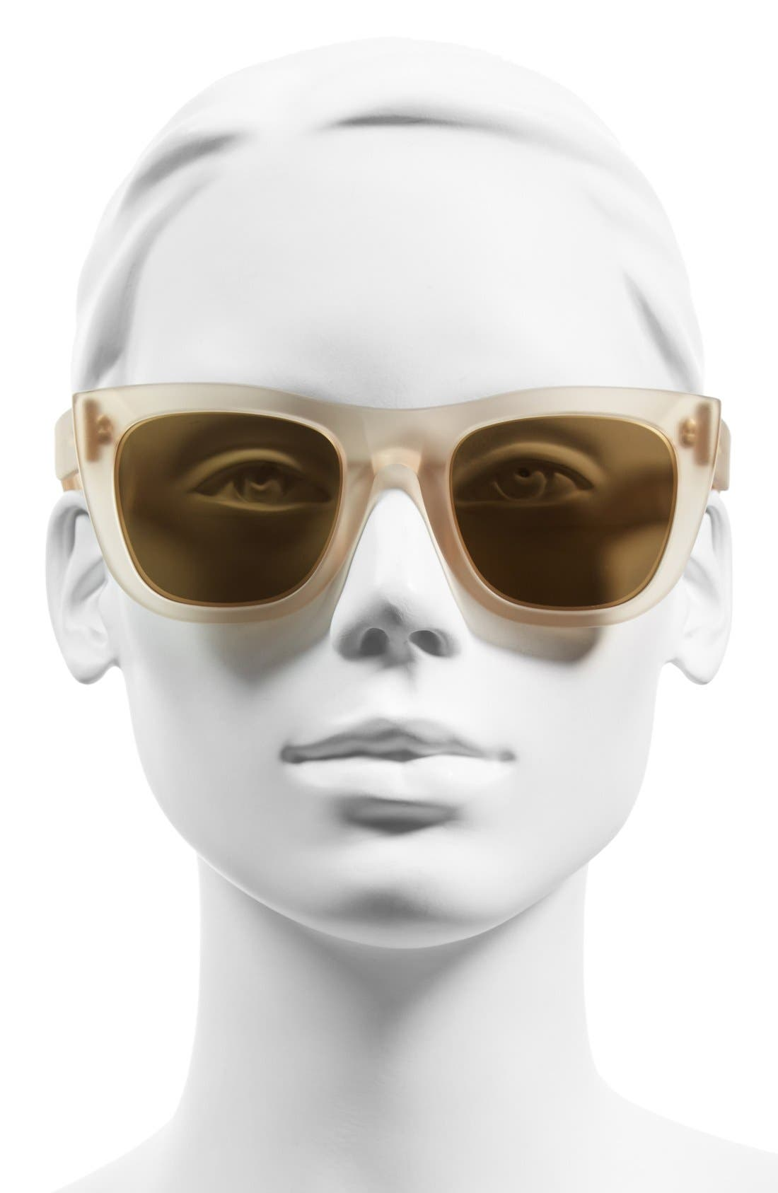 SUPER BY RETROSUPERFUTURE<SUP>®</SUP>, 'Gals' 50mm Mirrored Sunglasses, Alternate thumbnail 2, color, 250