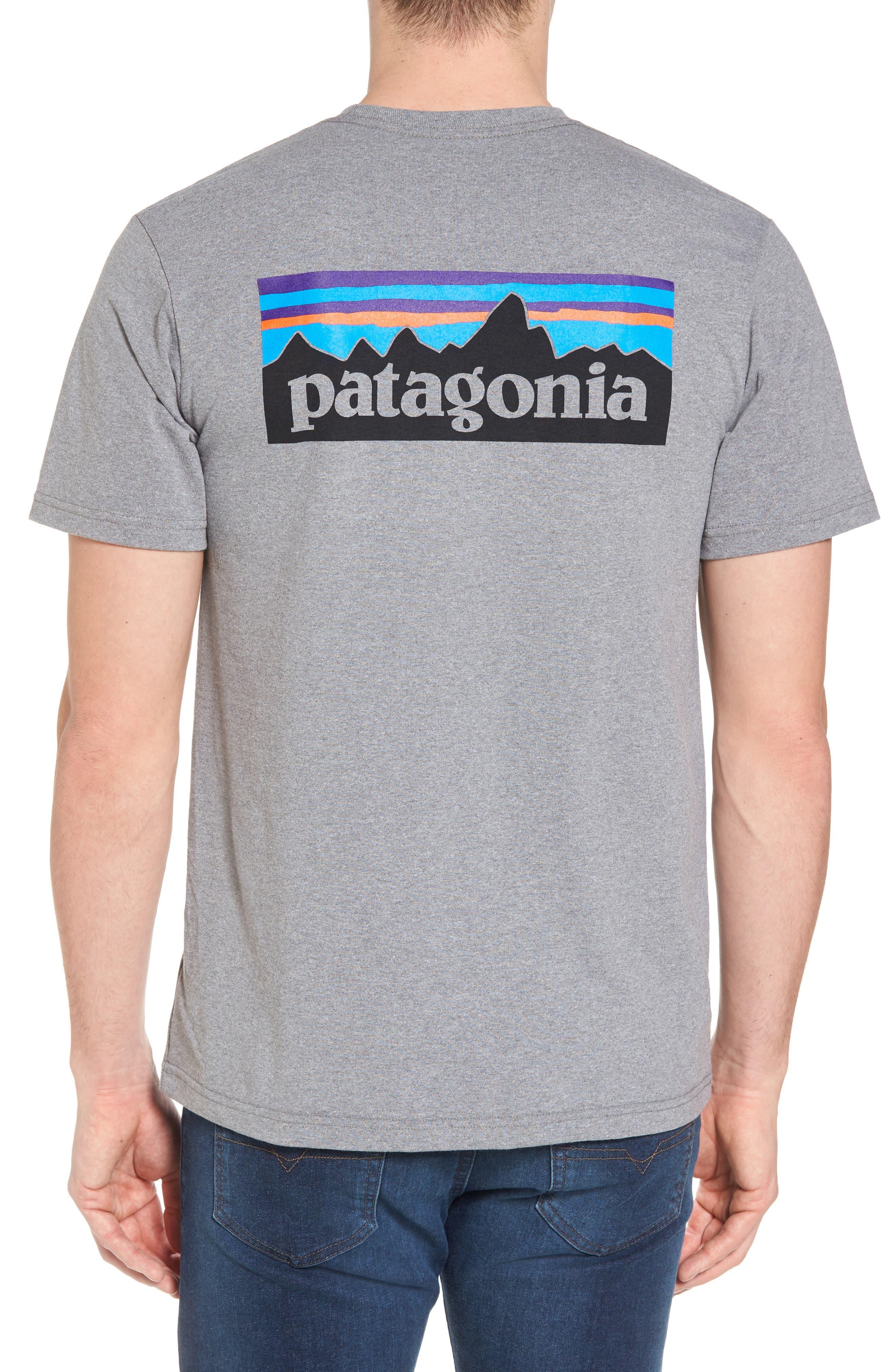 PATAGONIA, Responsibili-Tee T-Shirt, Alternate thumbnail 2, color, GRAVEL HEATHER