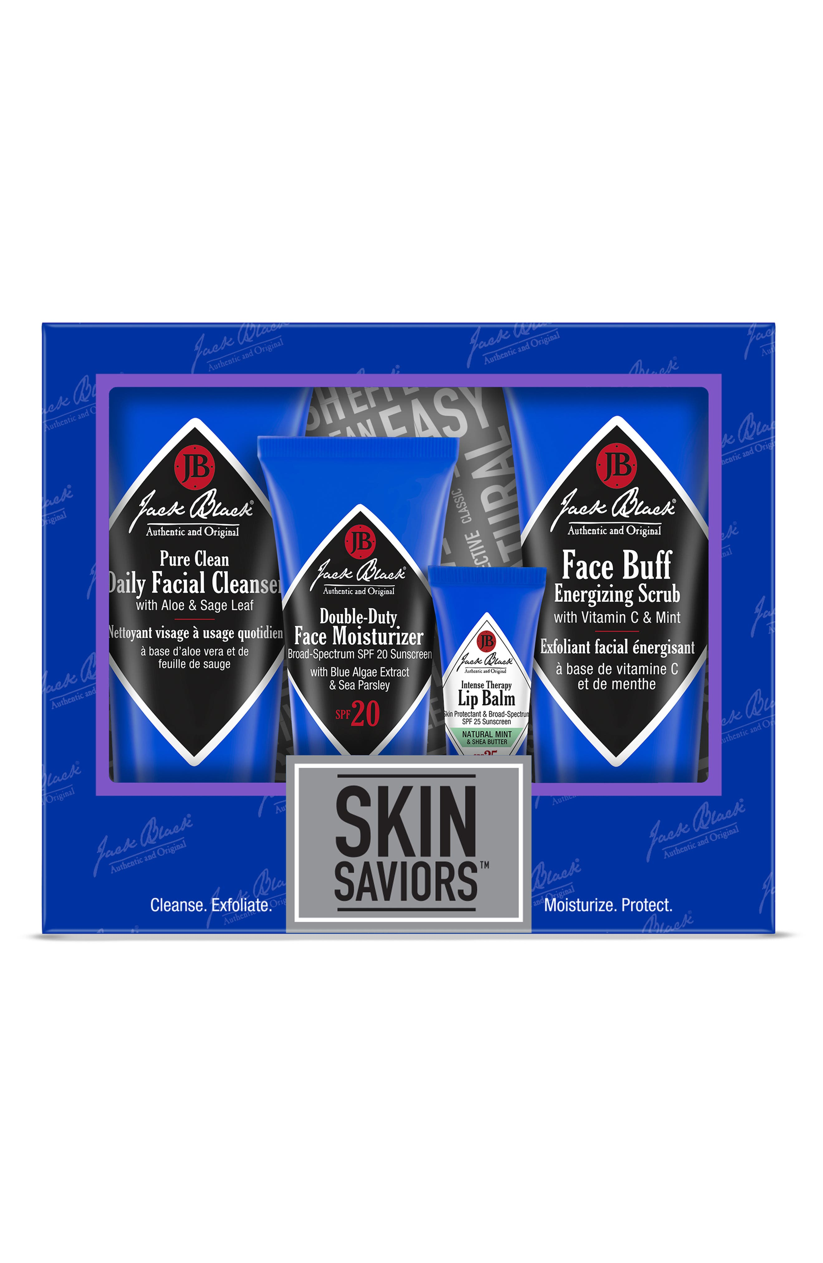 JACK BLACK Skin Saviors Set, Main, color, NO COLOR