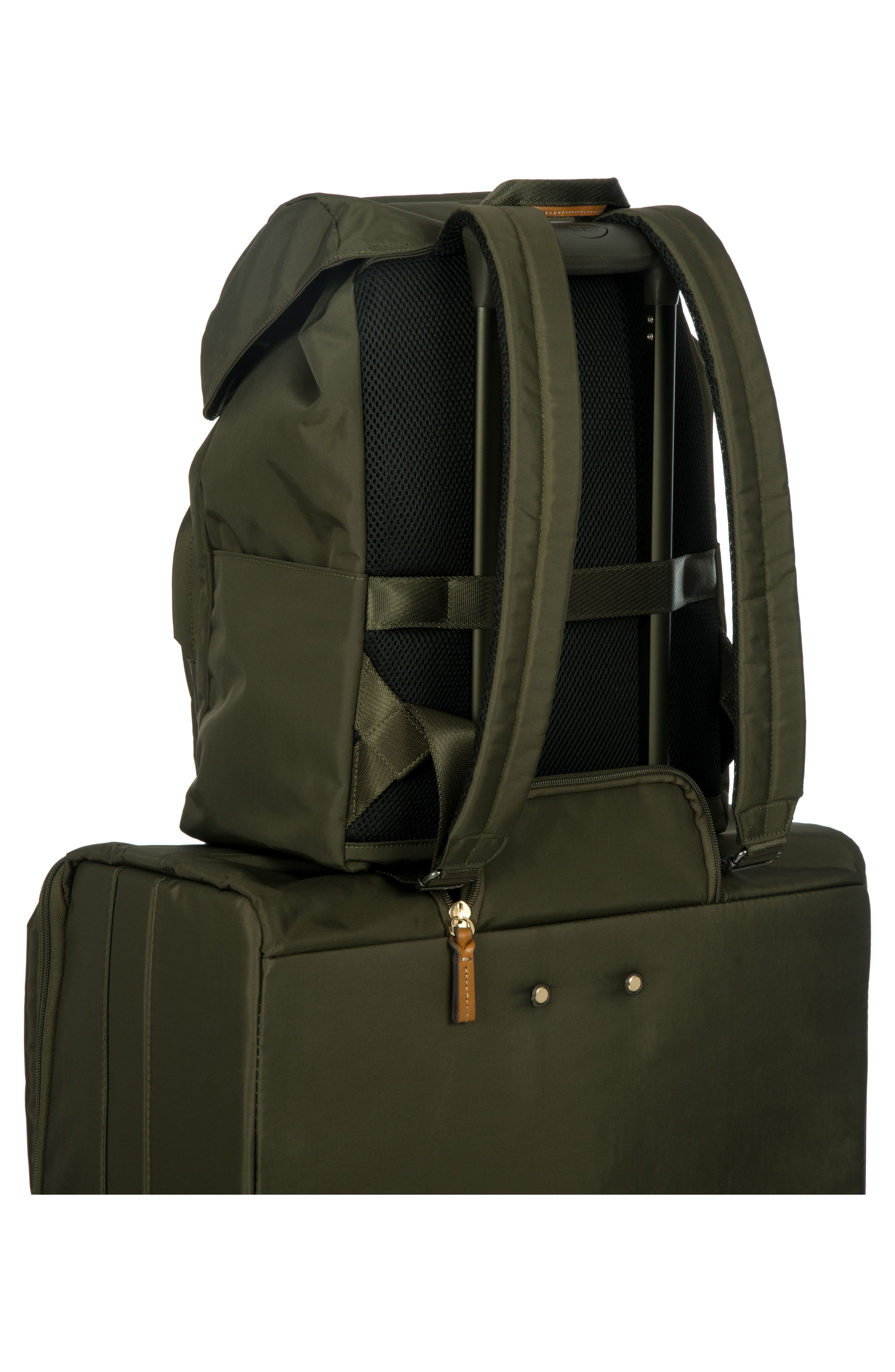 BRIC'S, X-Bag Travel Excursion Backpack, Alternate thumbnail 2, color, OLIVE