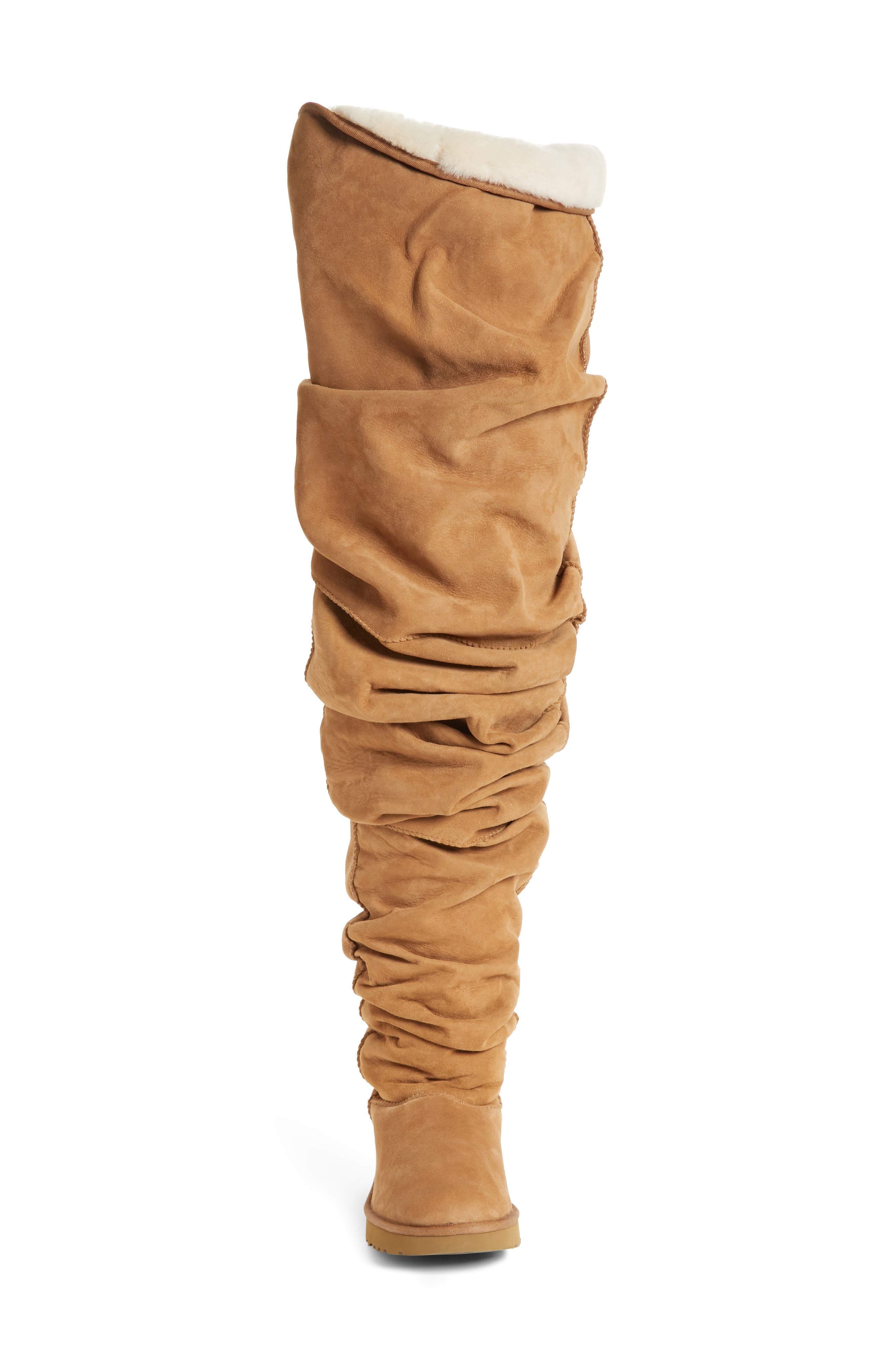 Y/PROJECT, x UGG<sup>®</sup> Thigh High Boot, Alternate thumbnail 4, color, 200