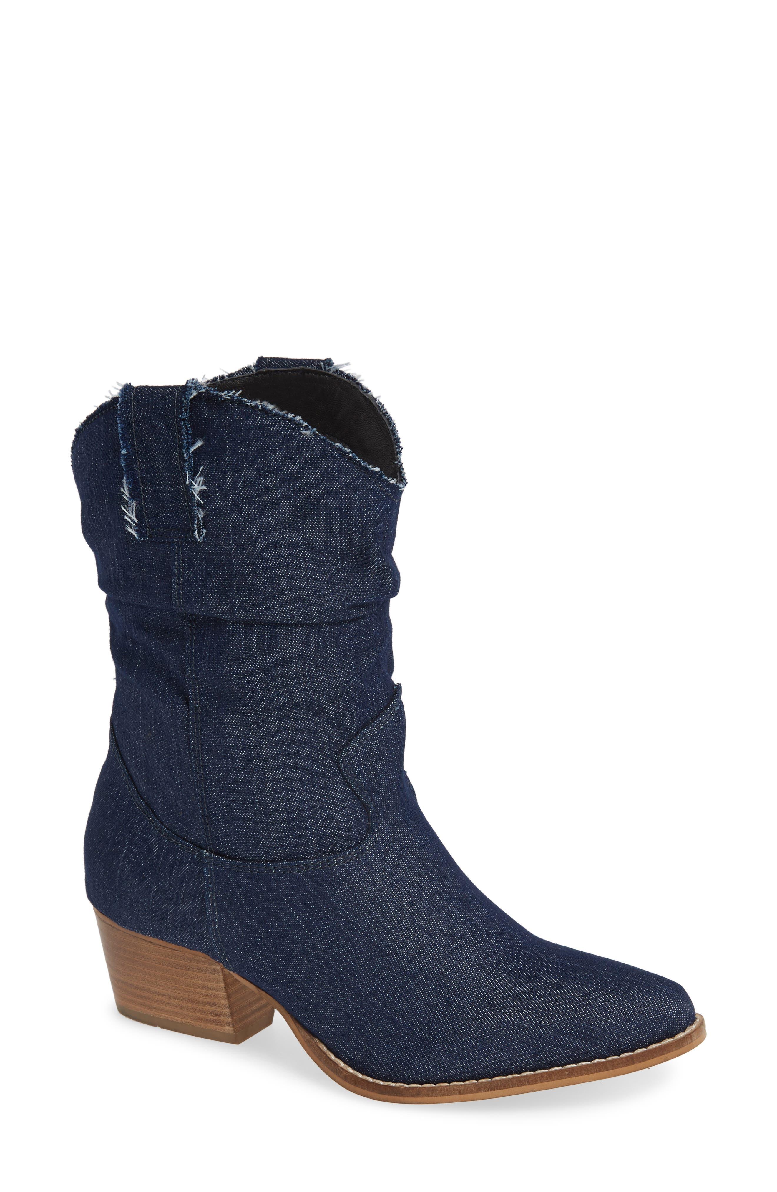 Charles By Charles David Zulu Western Boot, Blue