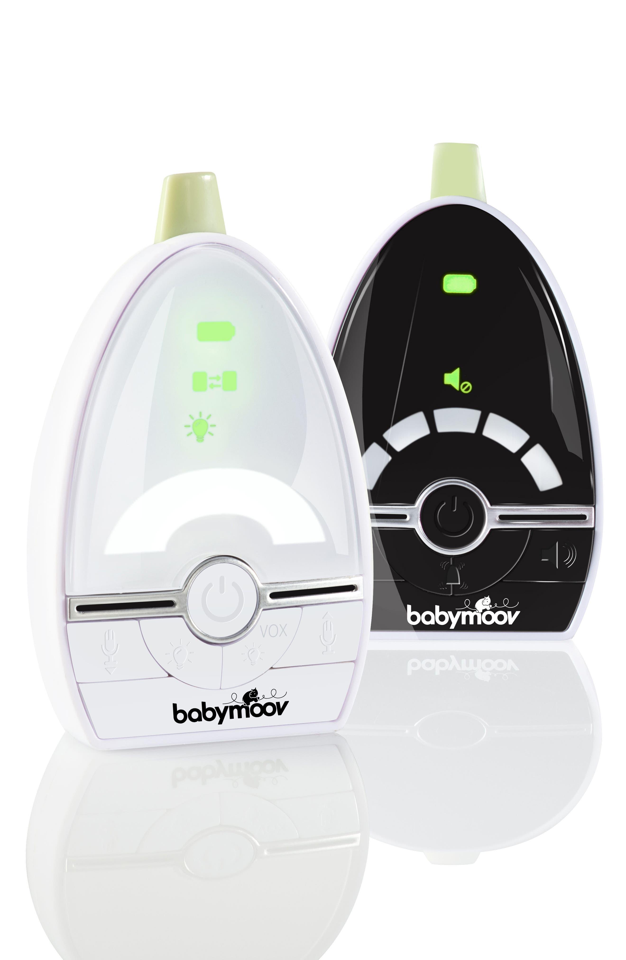 BABYMOOV, Expert Care Baby Monitor, Alternate thumbnail 2, color, WHITE/ BLACK
