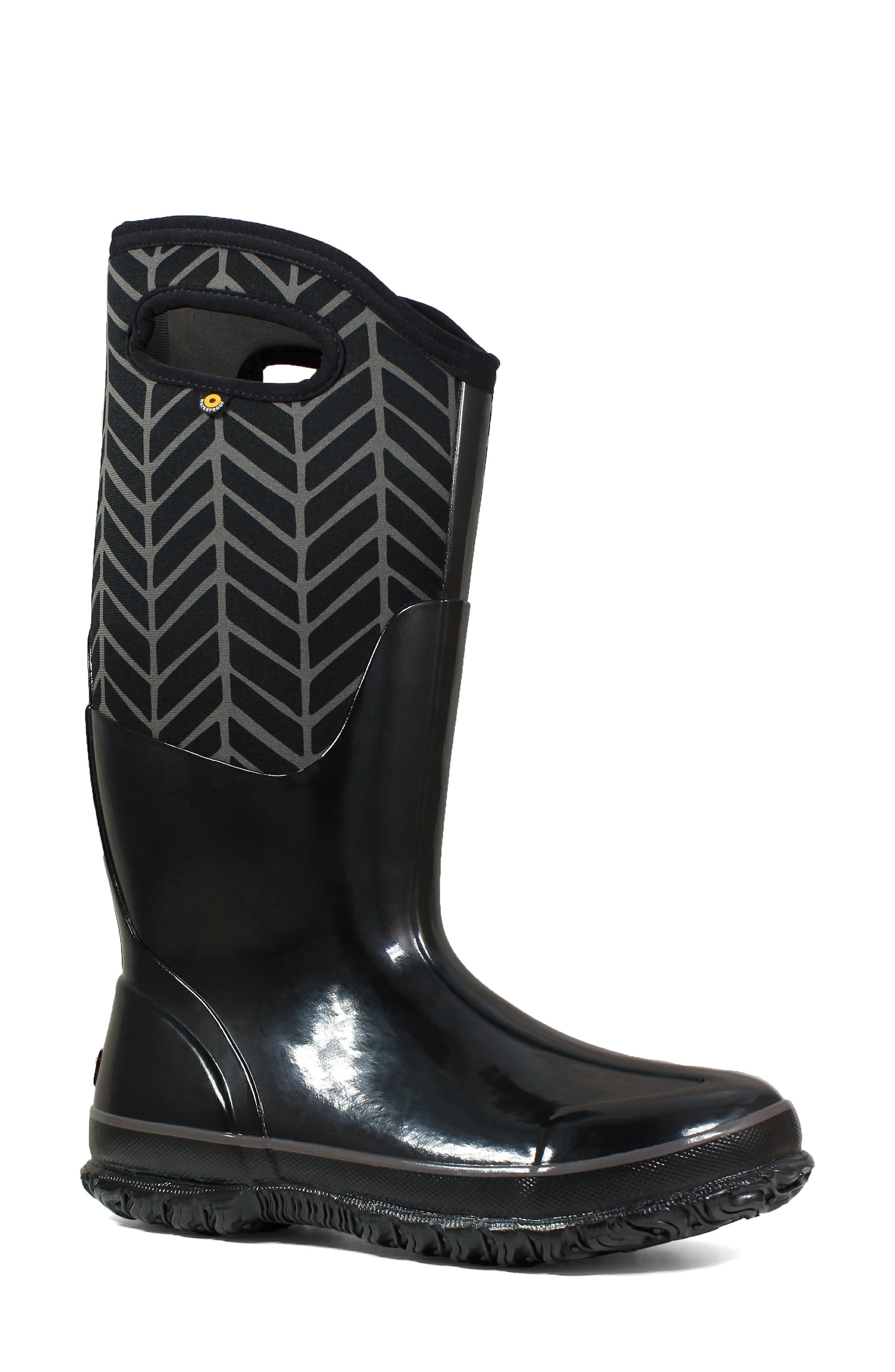 BOGS Classic Tall Badge Waterproof Snow Boot, Main, color, 009