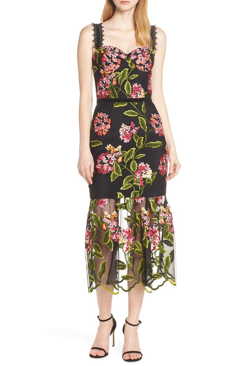 Bronx And Banco Cordellia Midi Dress
