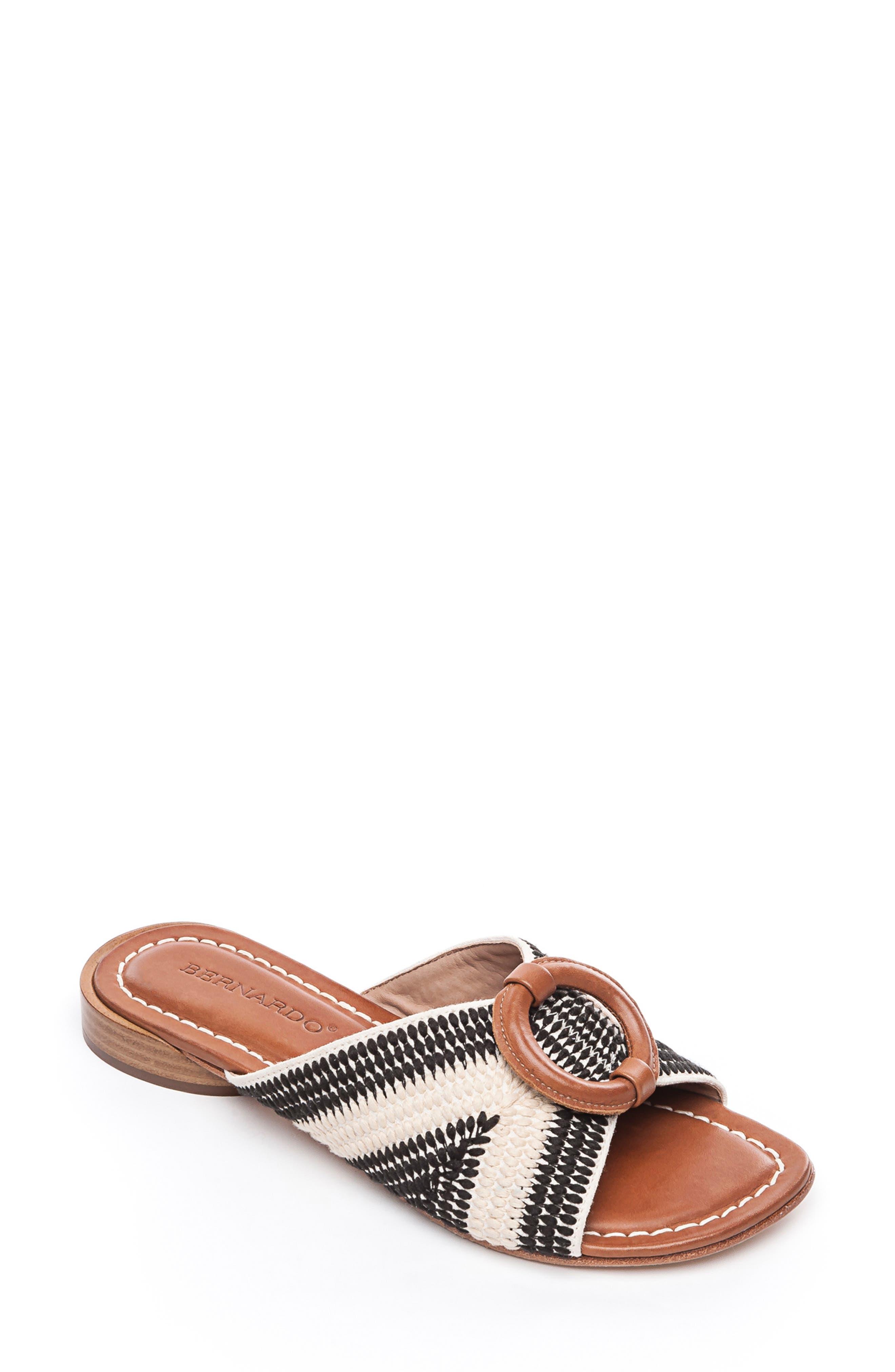 a2d4a17cc8e Bernardo Footwear Tay Slide Sandal- Ivory
