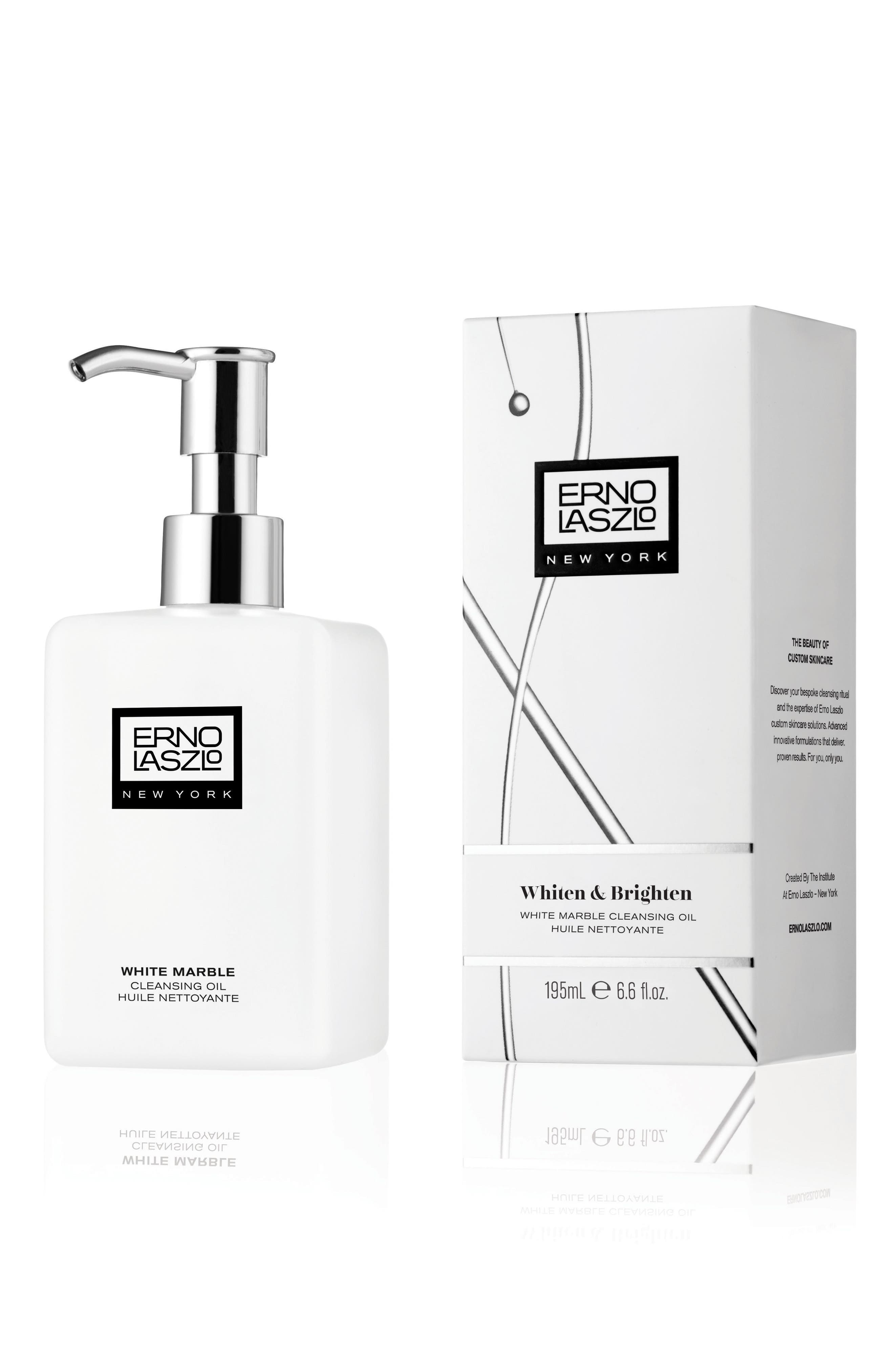 ERNO LASZLO, White Marble Cleansing Oil, Alternate thumbnail 3, color, NO COLOR