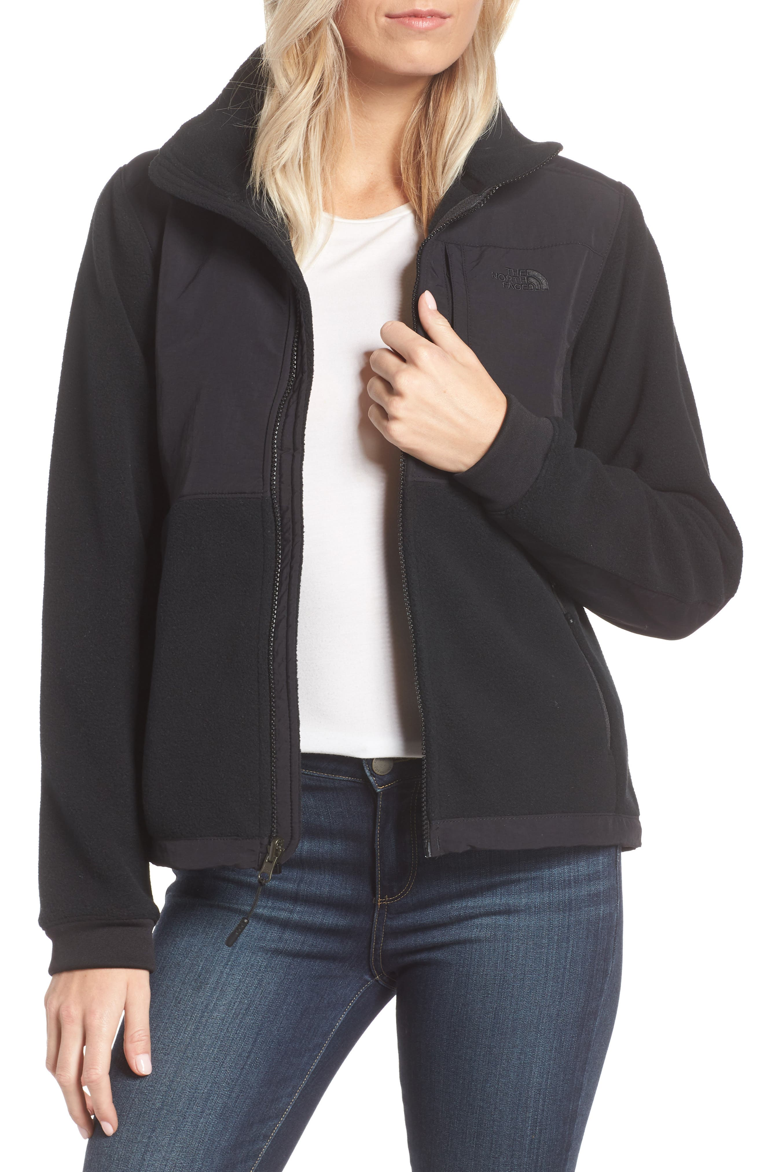 THE NORTH FACE, Denali 2 Jacket, Main thumbnail 1, color, TNF BLACK