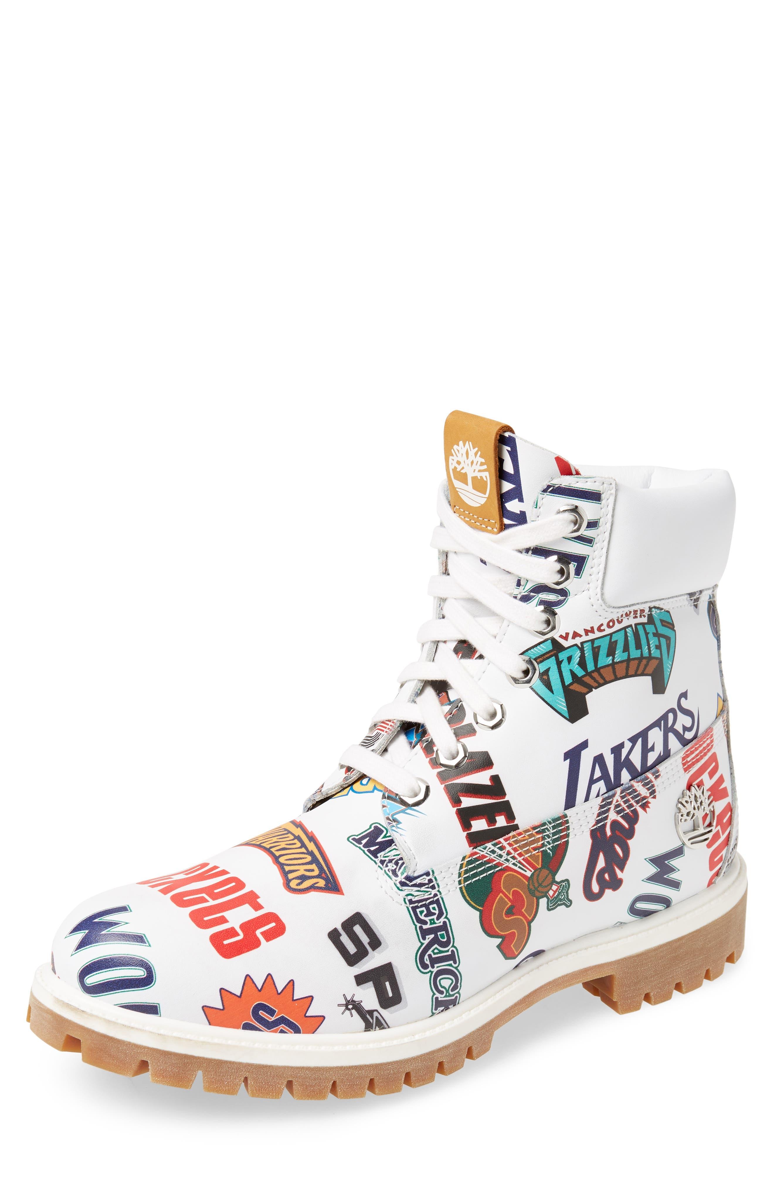 Timberland Premium Nba Collection Boot, White