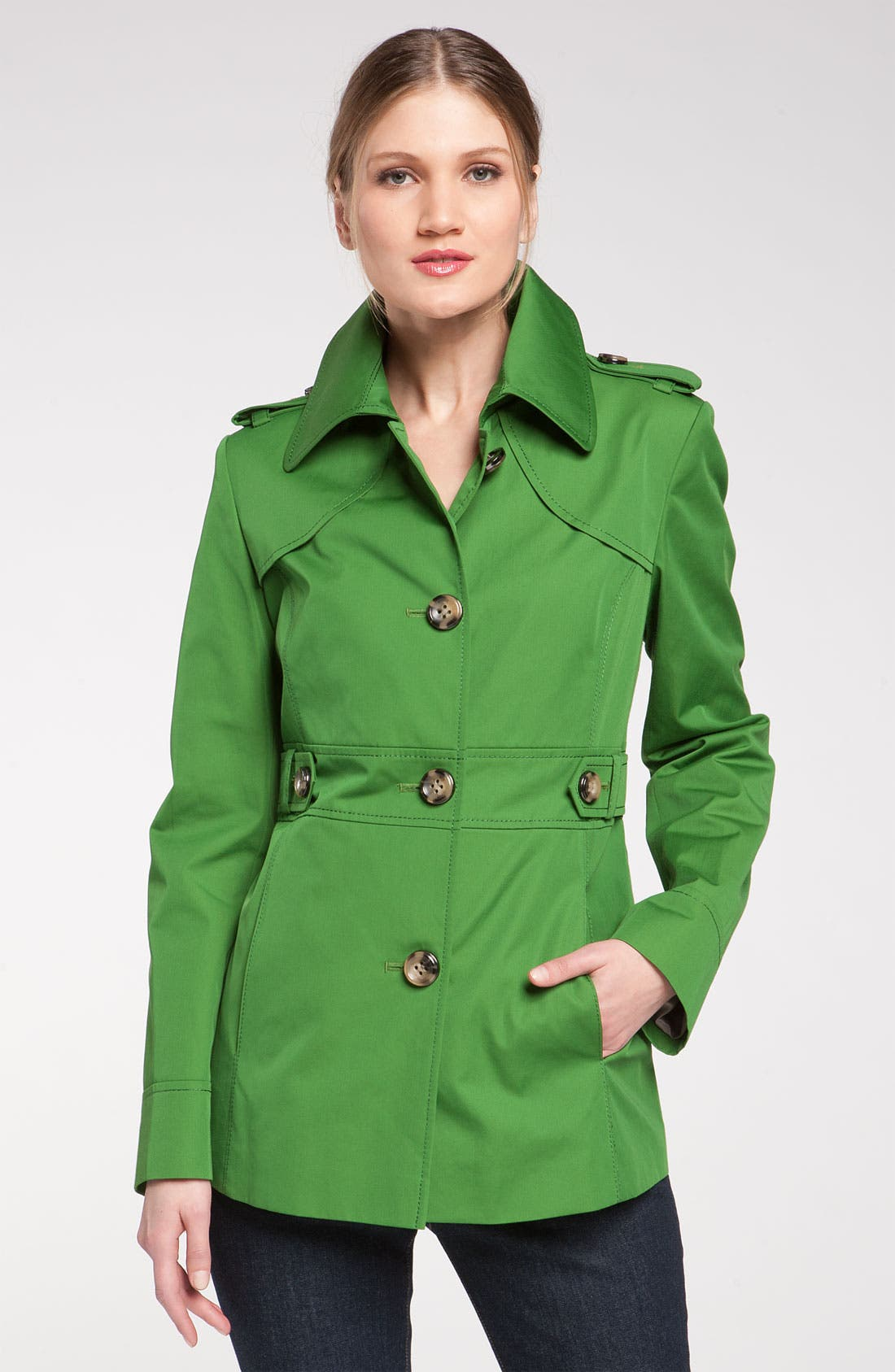 GALLERY Single Breasted Pant Coat, Main, color, 300