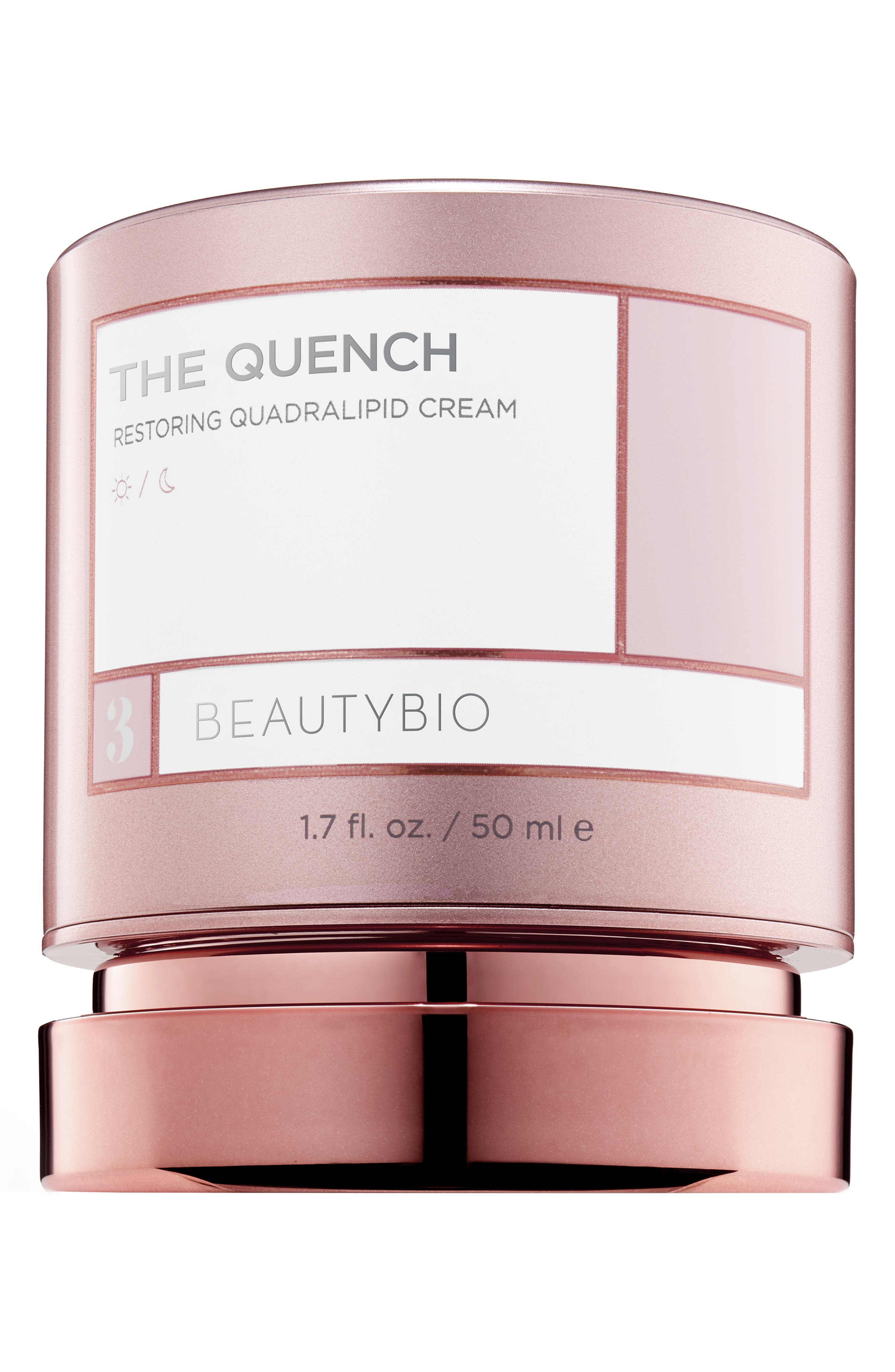 BEAUTYBIO, The Quench Restoring Quadralipid Cream, Main thumbnail 1, color, NO COLOR