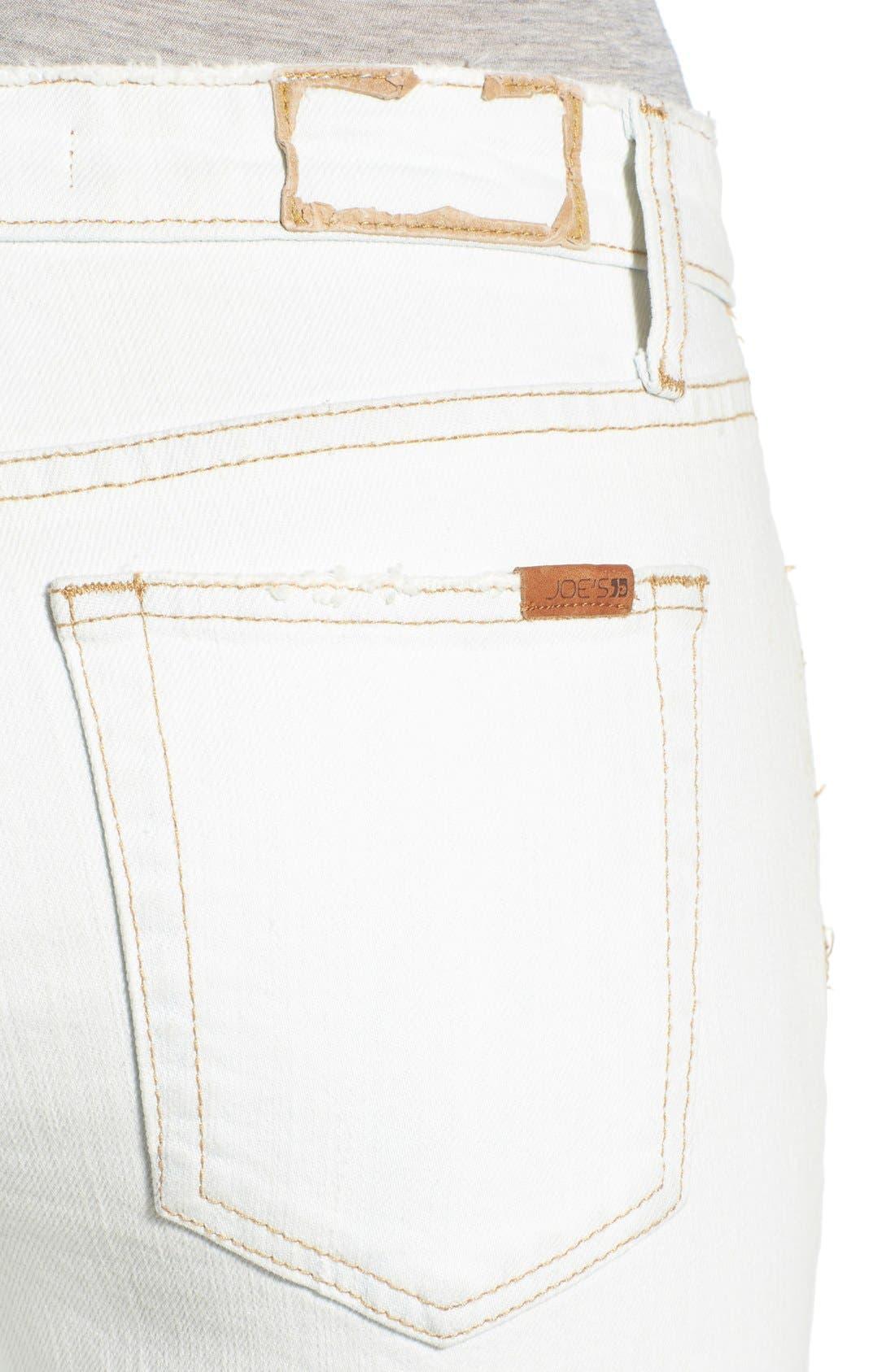 JOE'S, 'Collector's - Billie' Ankle Slim Boyfriend Jeans, Alternate thumbnail 5, color, 100
