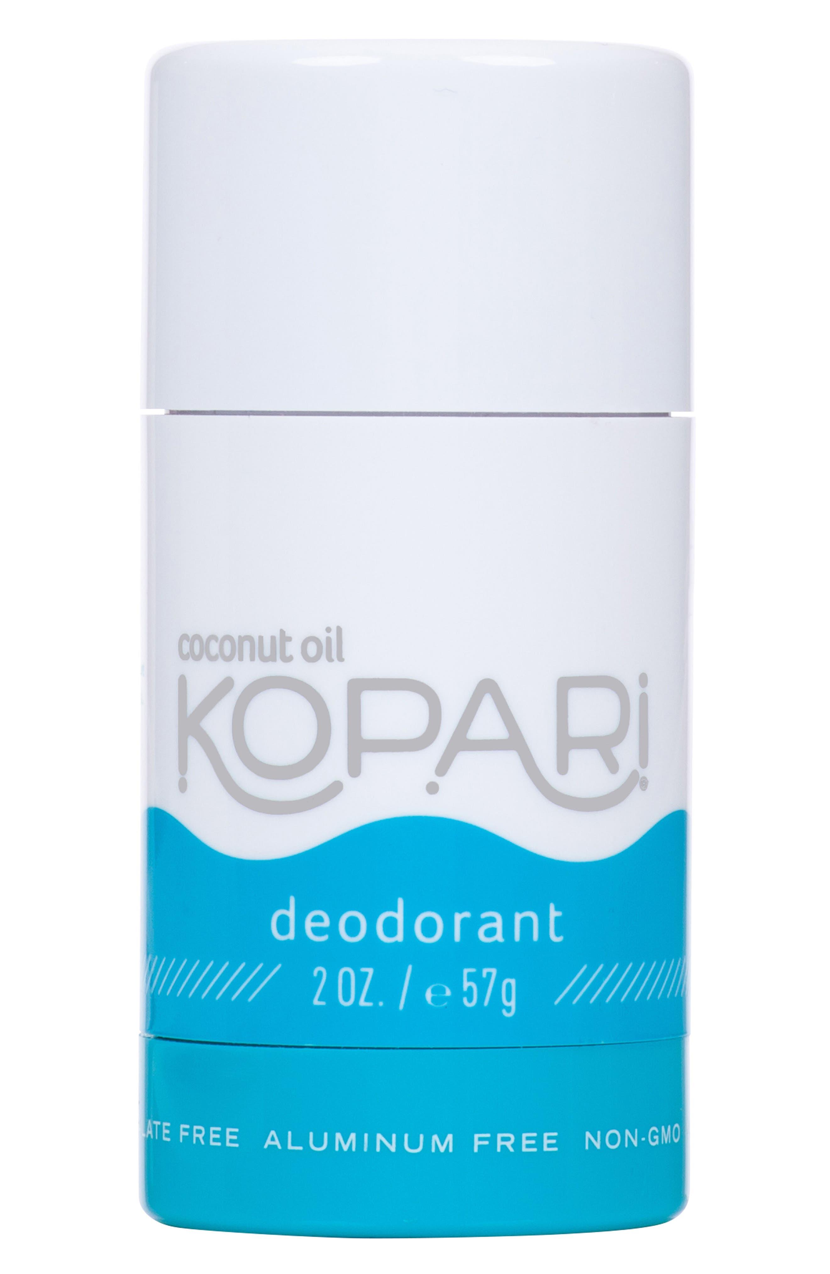 KOPARI, Coconut Deodorant, Main thumbnail 1, color, ORIGINAL
