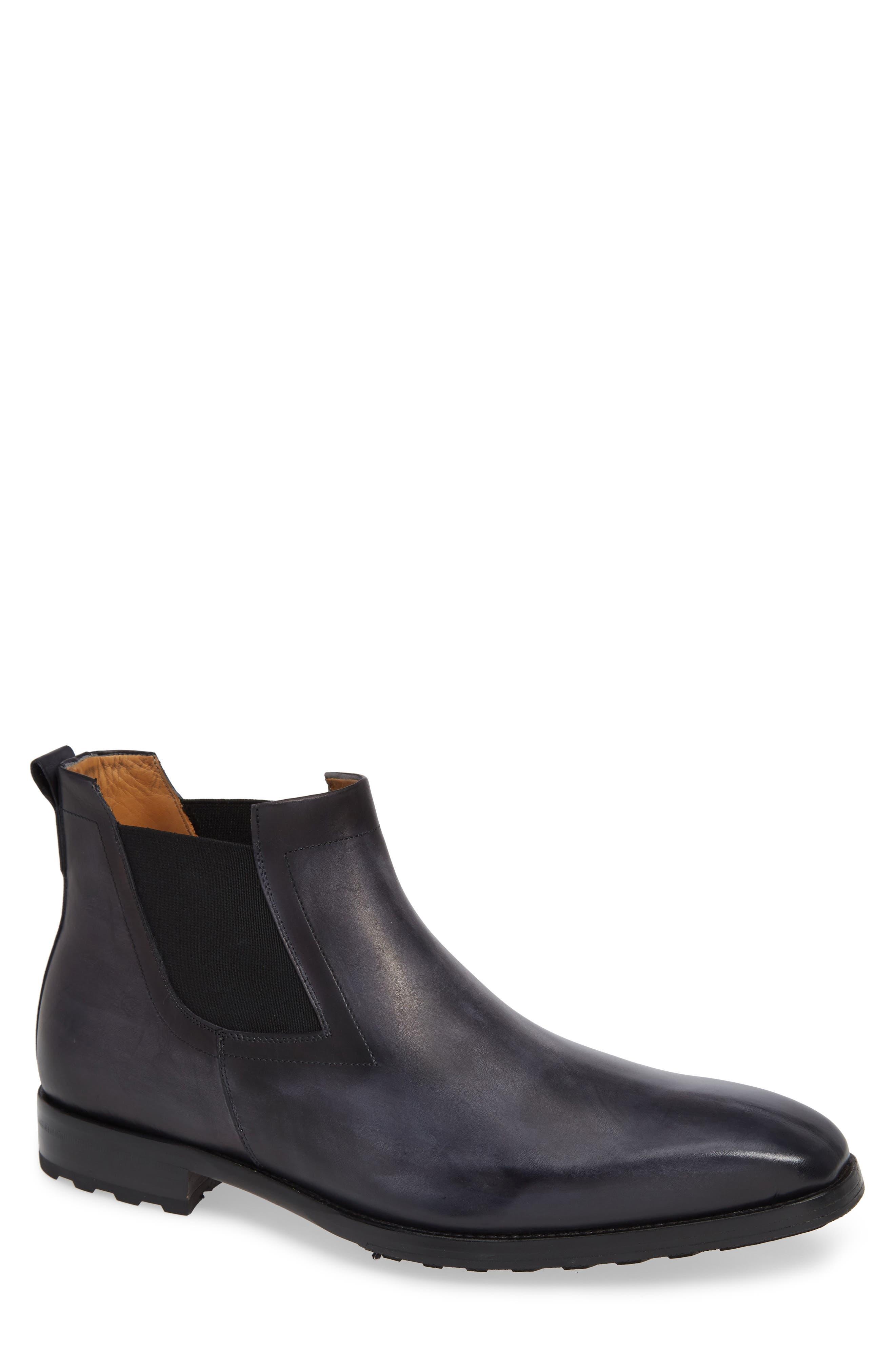 Mezlan Omar Lugged Chelsea Boot- Grey
