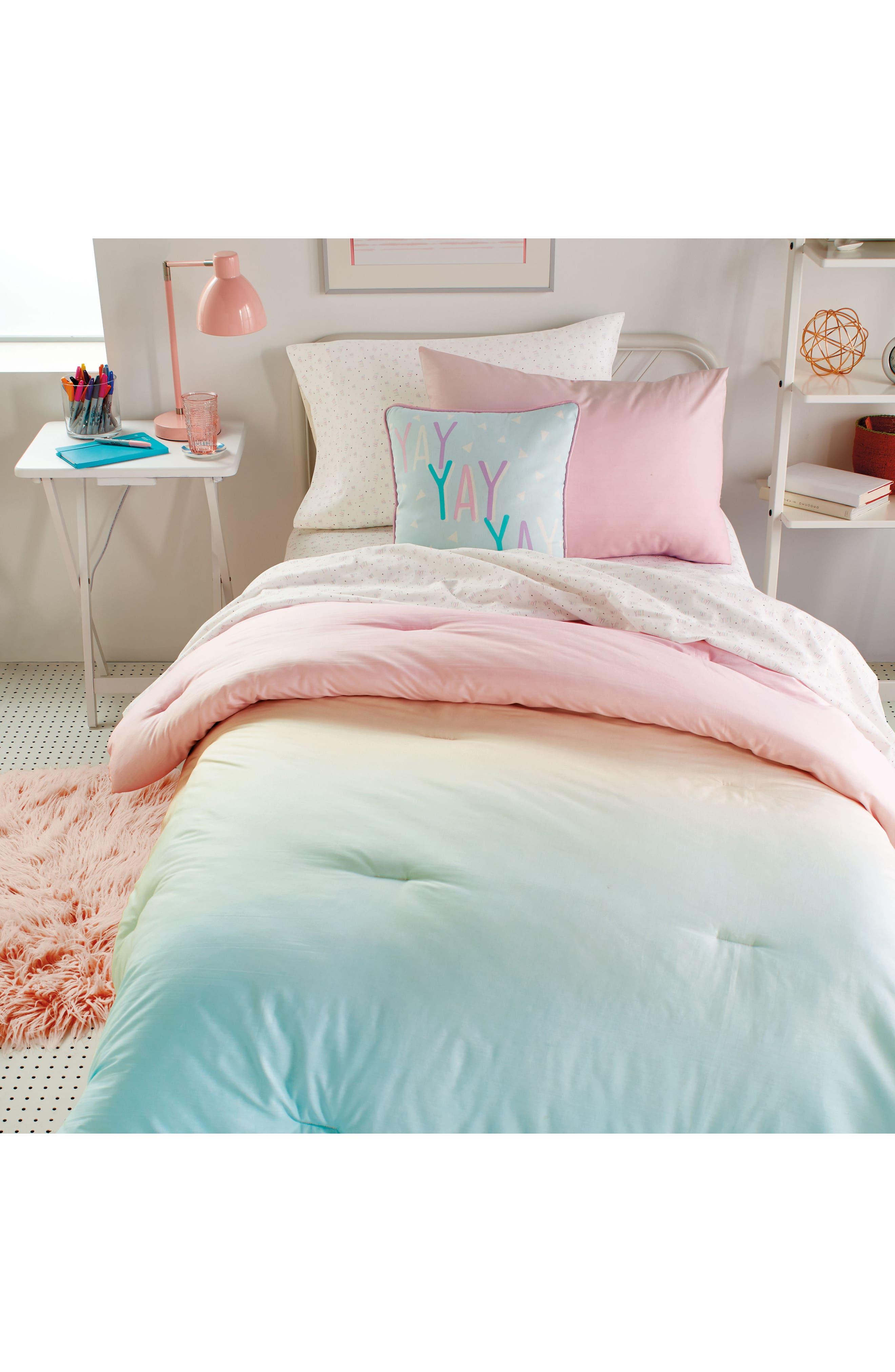 DKNY, Empire Light Comforter, Sham & Accent Pillow Set, Alternate thumbnail 5, color, 675