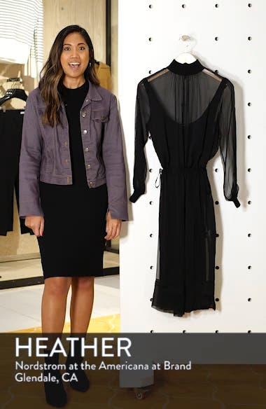 Dinah Silk Dress, sales video thumbnail
