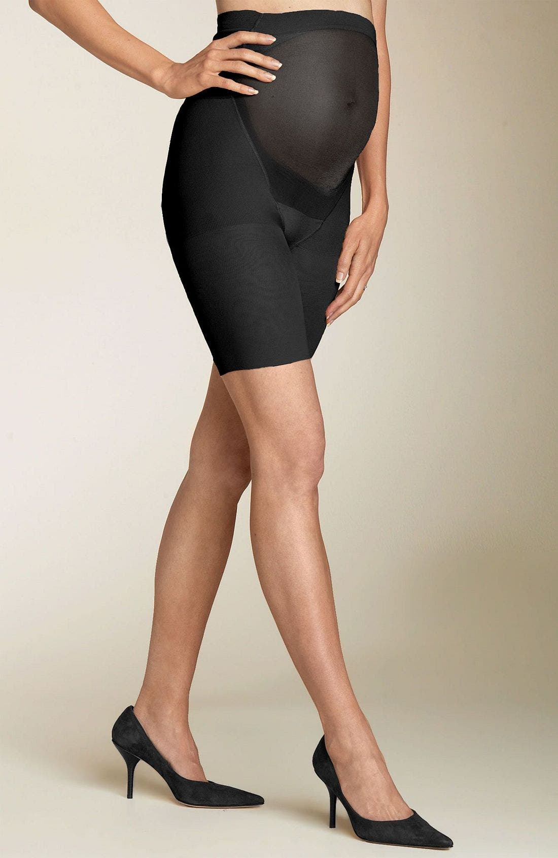SPANX<SUP>®</SUP>, Power Mama Maternity Shaper, Main thumbnail 1, color, BLACK