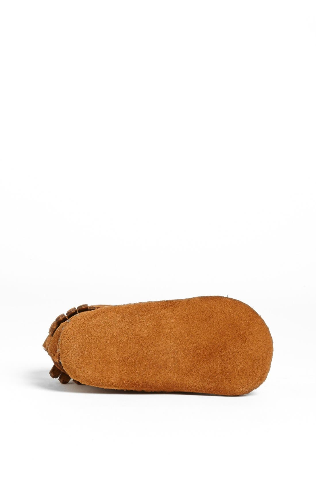 MINNETONKA, Bootie, Alternate thumbnail 4, color, BROWN