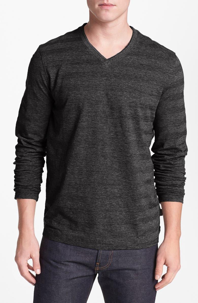 e1de3055 BOSS HUGO BOSS 'Molino' Regular Fit V-Neck T-Shirt | Nordstrom