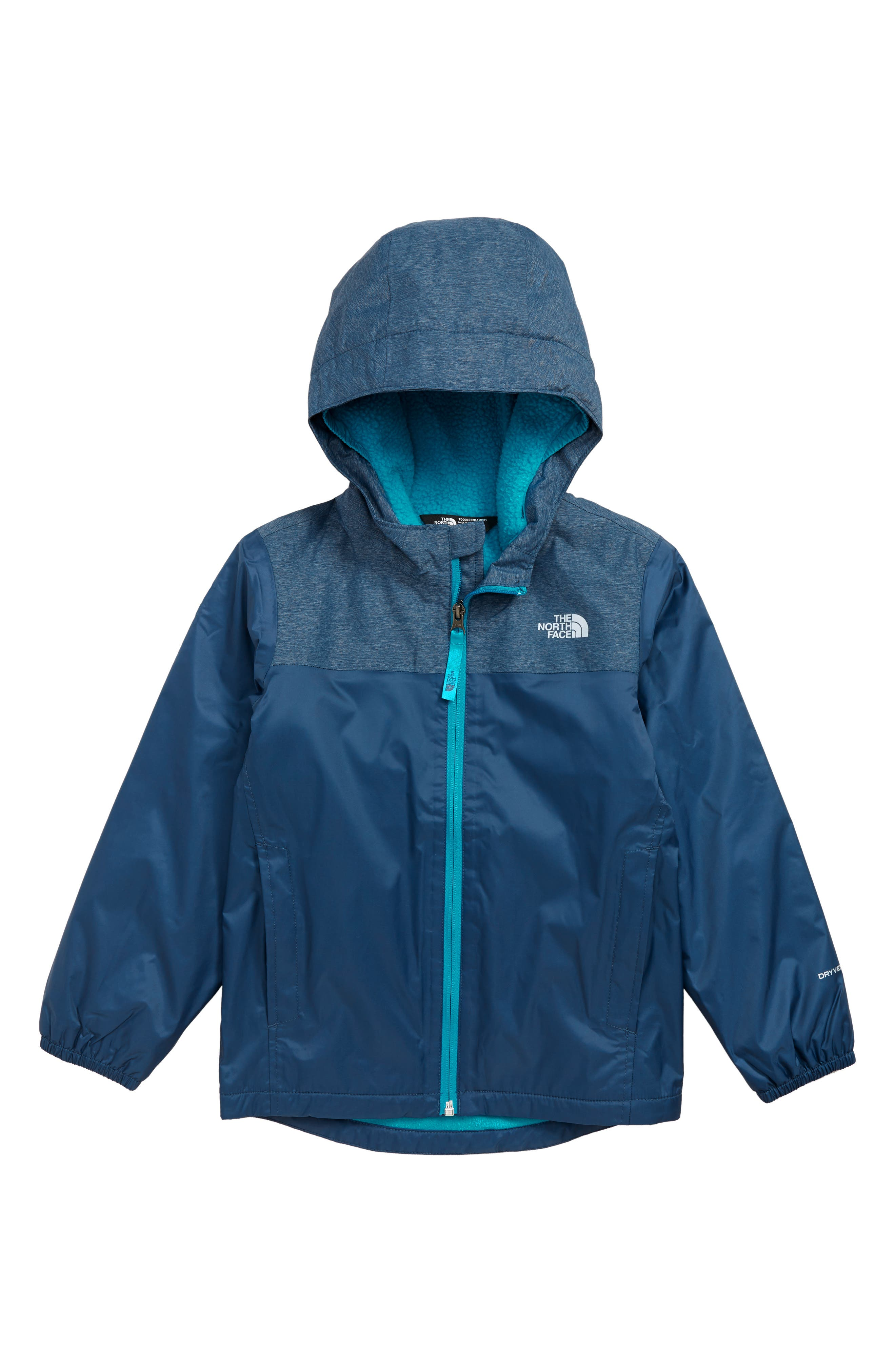 Toddler Boys The North Face Warm Storm Jacket Size 3T  Blue