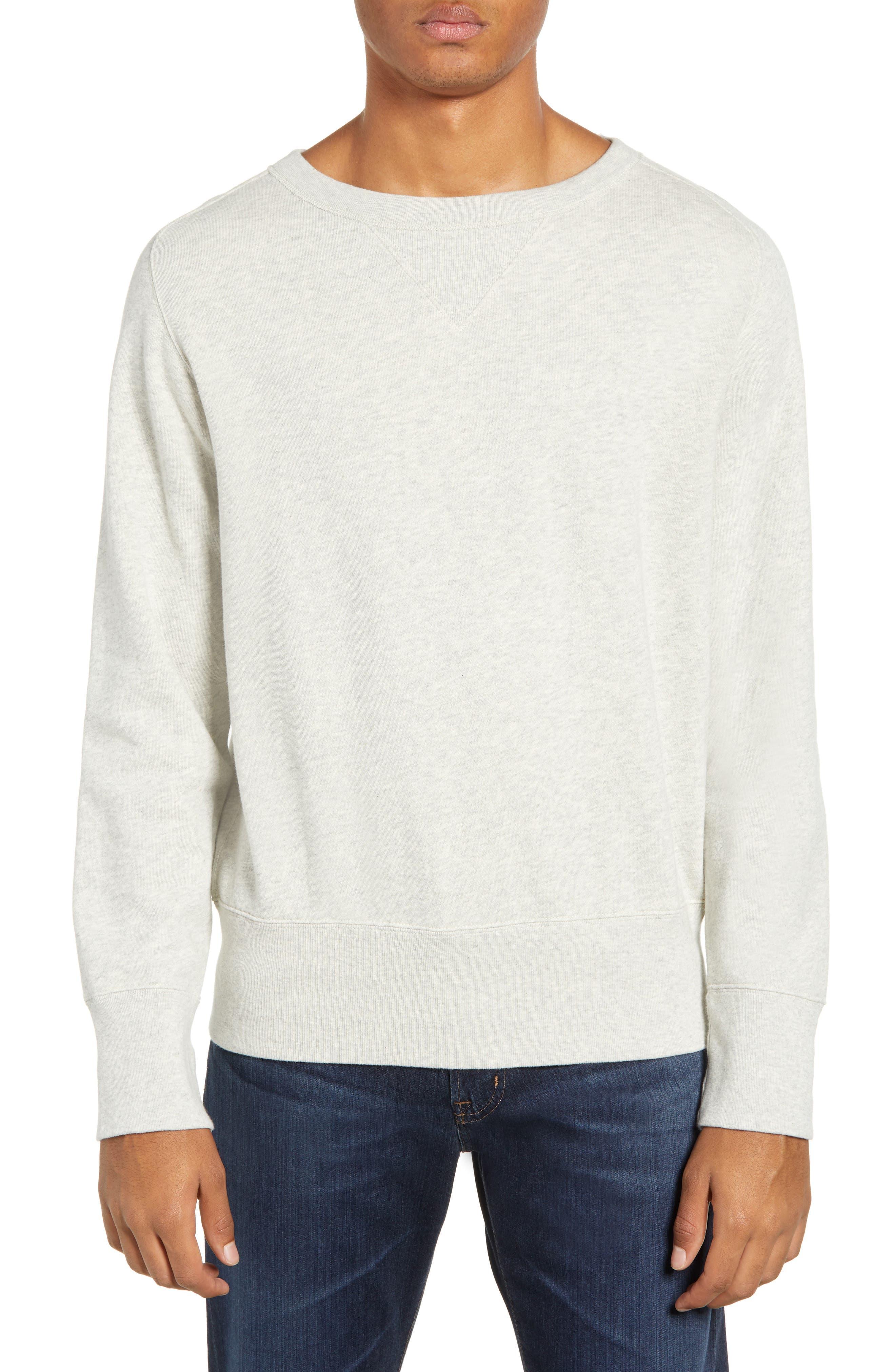 LEVI'S<SUP>®</SUP> VINTAGE CLOTHING 1930s Bay Meadows Sweatshirt, Main, color, OATMEAL