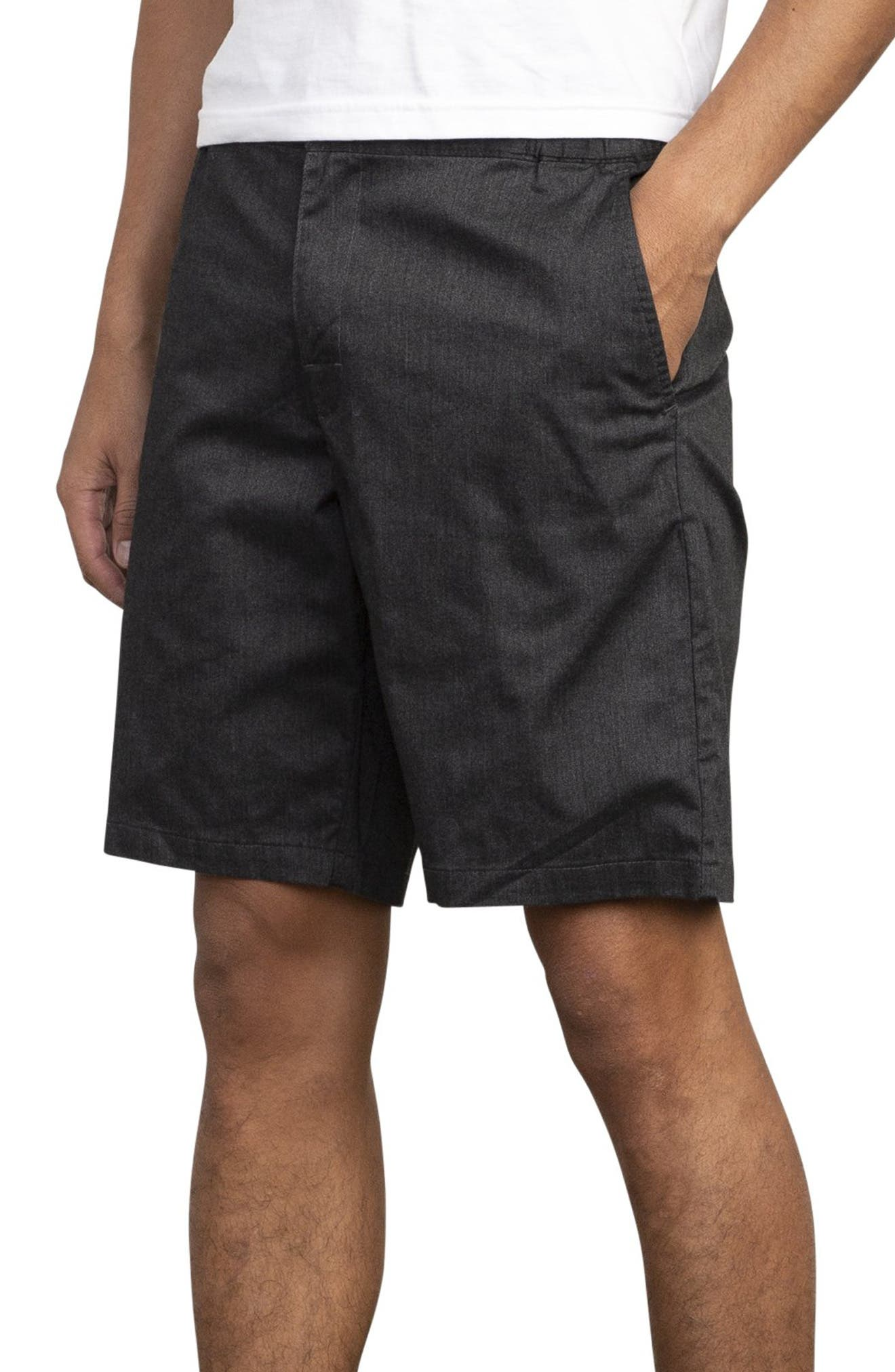 RVCA, All Time Session Shorts, Alternate thumbnail 3, color, BLACK MARLE