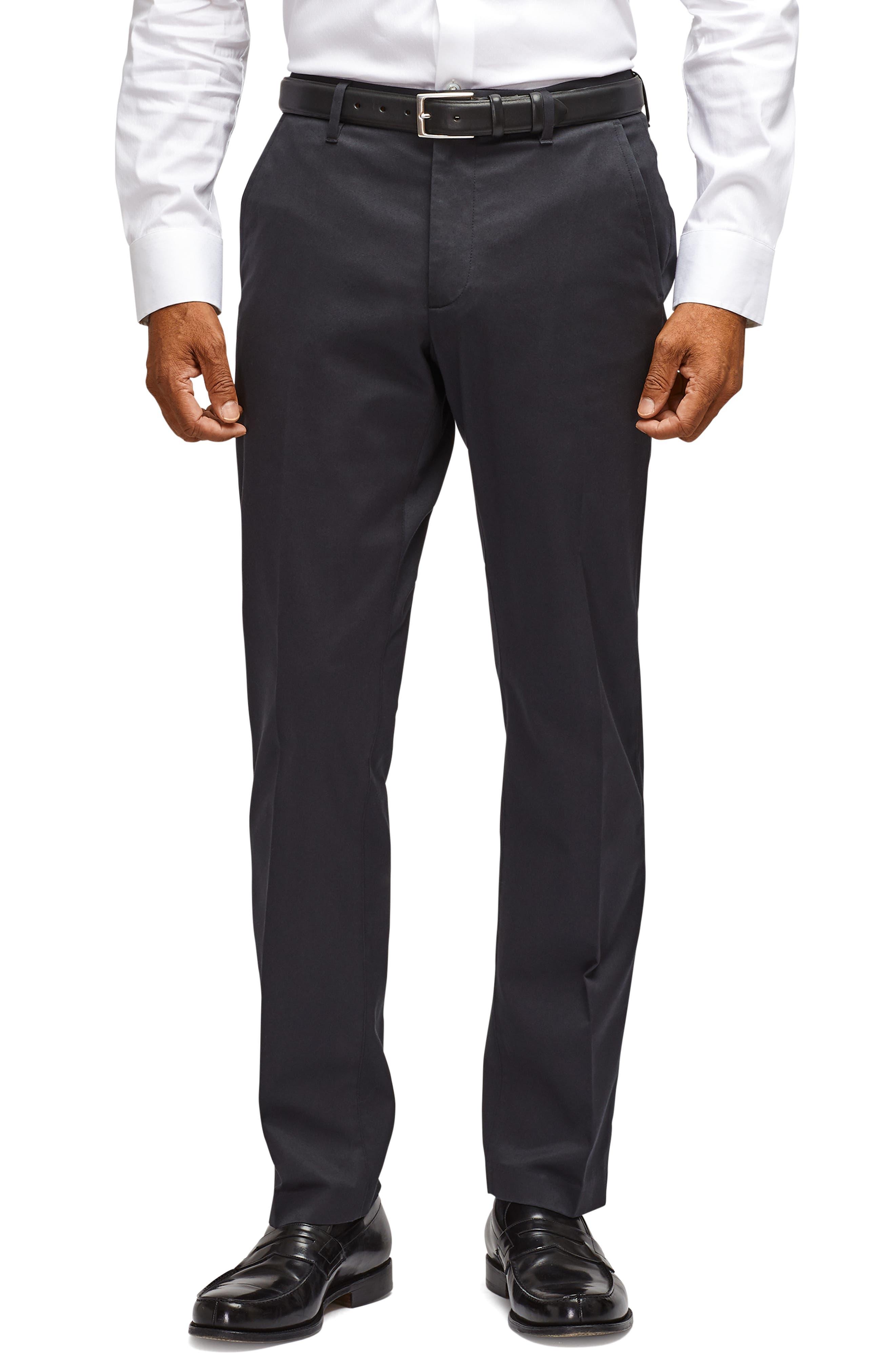 BONOBOS, Weekday Warrior Slim Fit Stretch Dress Pants, Main thumbnail 1, color, BLACK