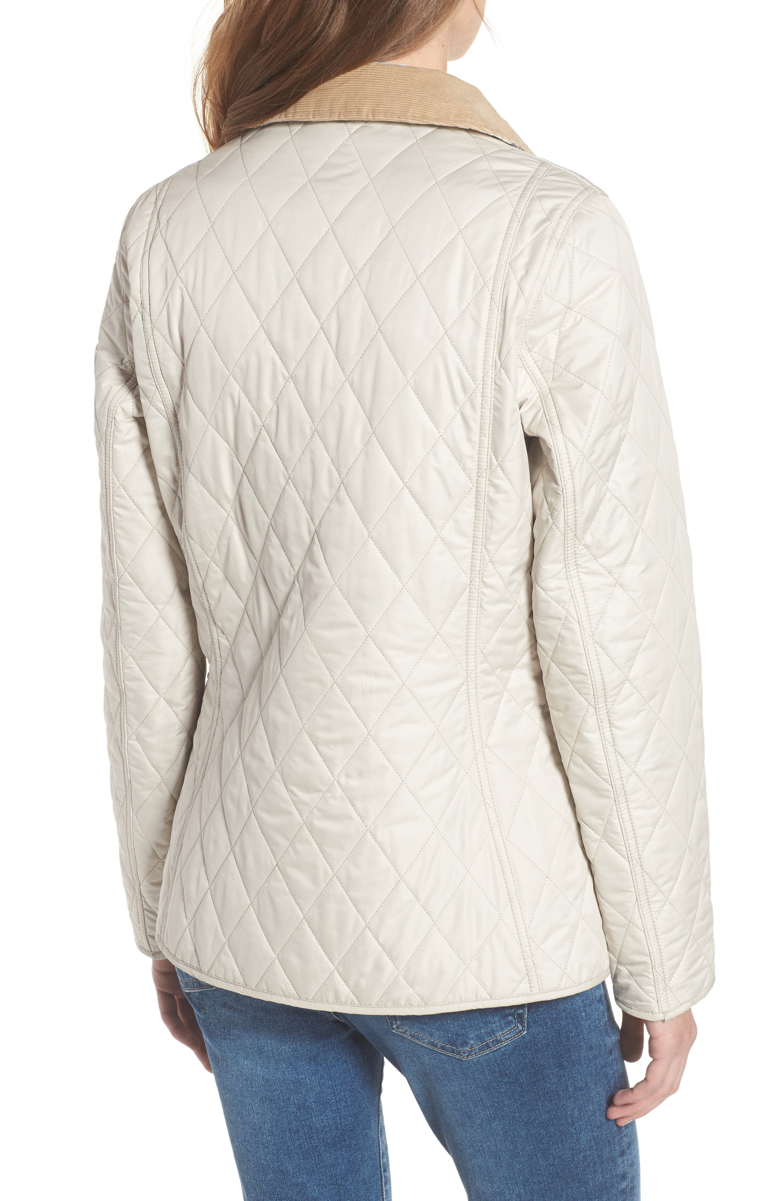 BARBOUR, Spring Annandale Quilted Jacket, Alternate thumbnail 2, color, 270