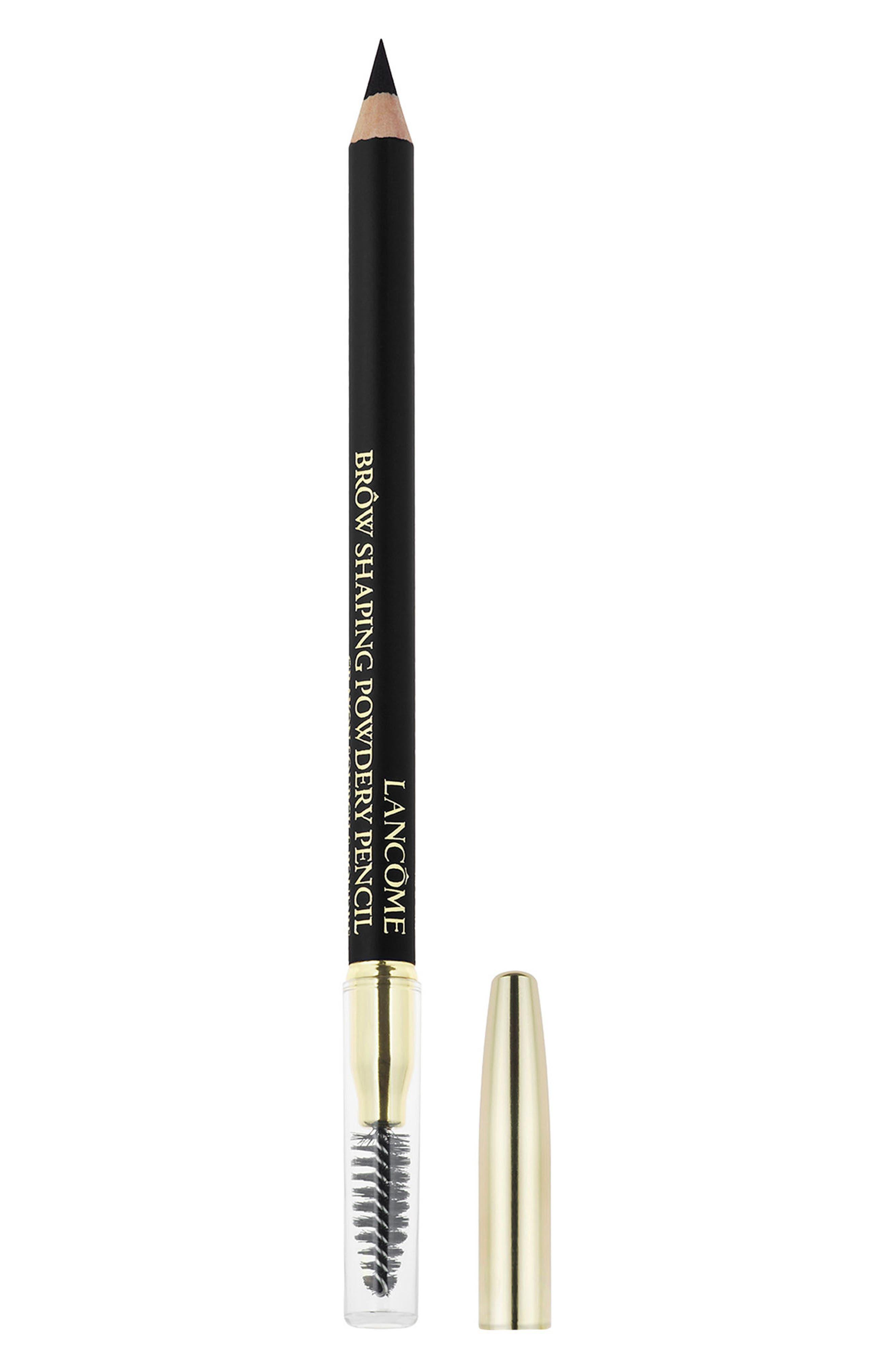 LANCÔME, Brow Shaping Powdery Pencil, Main thumbnail 1, color, BLACK 10